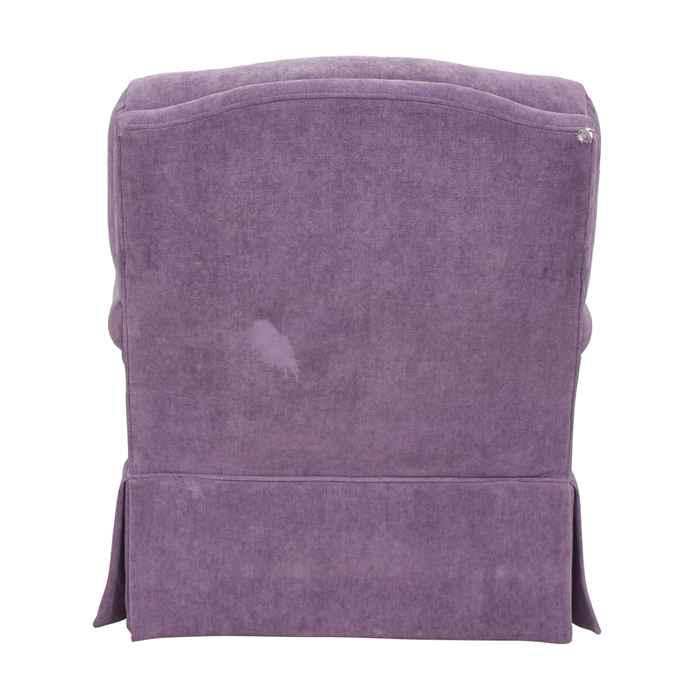 shop Greenbaum Interiors Swivel Tufted Arm Chair Greenbaum Interiors Chairs