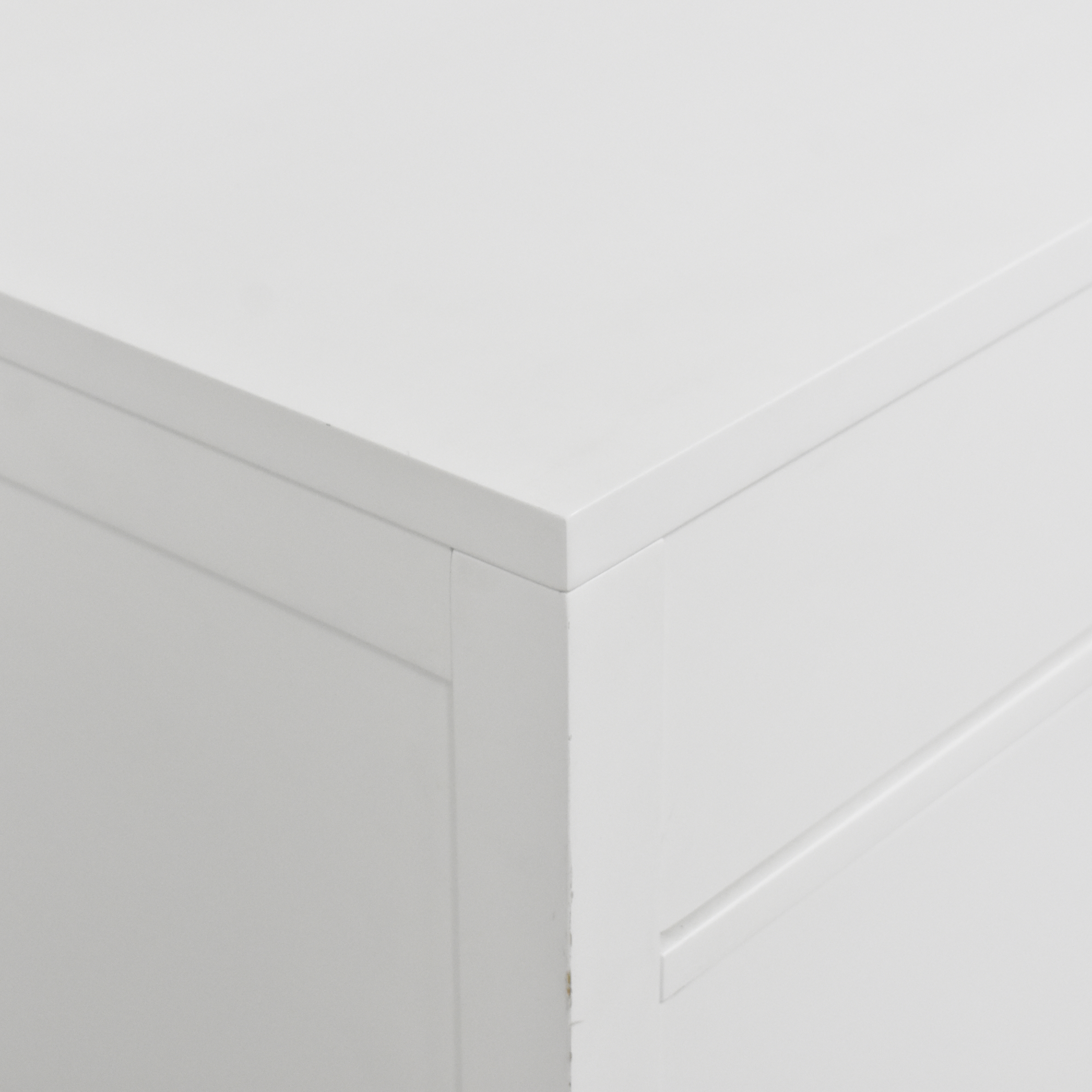 Crate & Barrel Crate & Barrel Arch Three Drawer Chest for sale