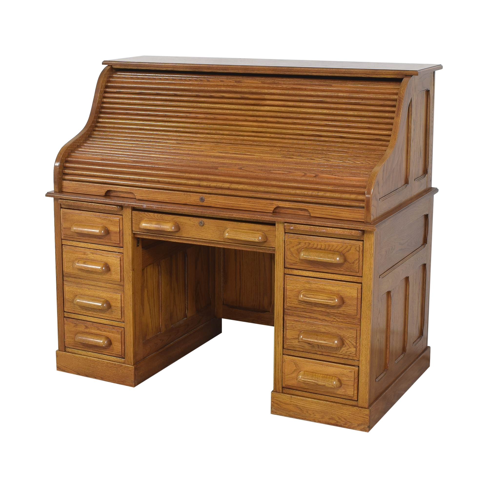 shop National Mount Airy Roll Top Desk Mount Airy