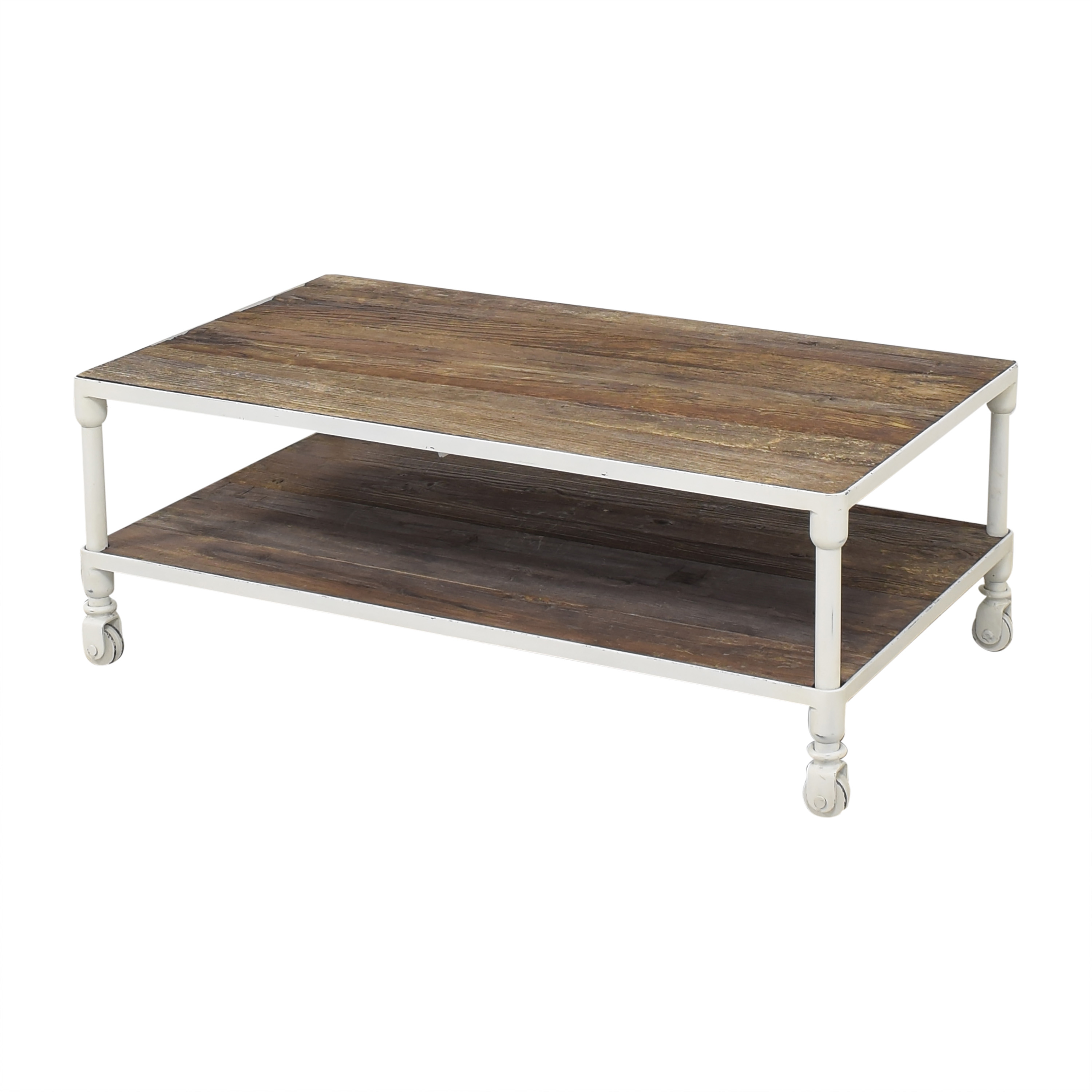 Restoration Hardware Dutch Industrial Coffee Table / Tables