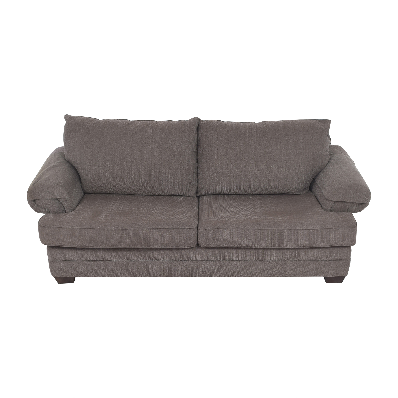 shop Bassett Furniture Two Cushion Sofa Bassett Furniture Classic Sofas