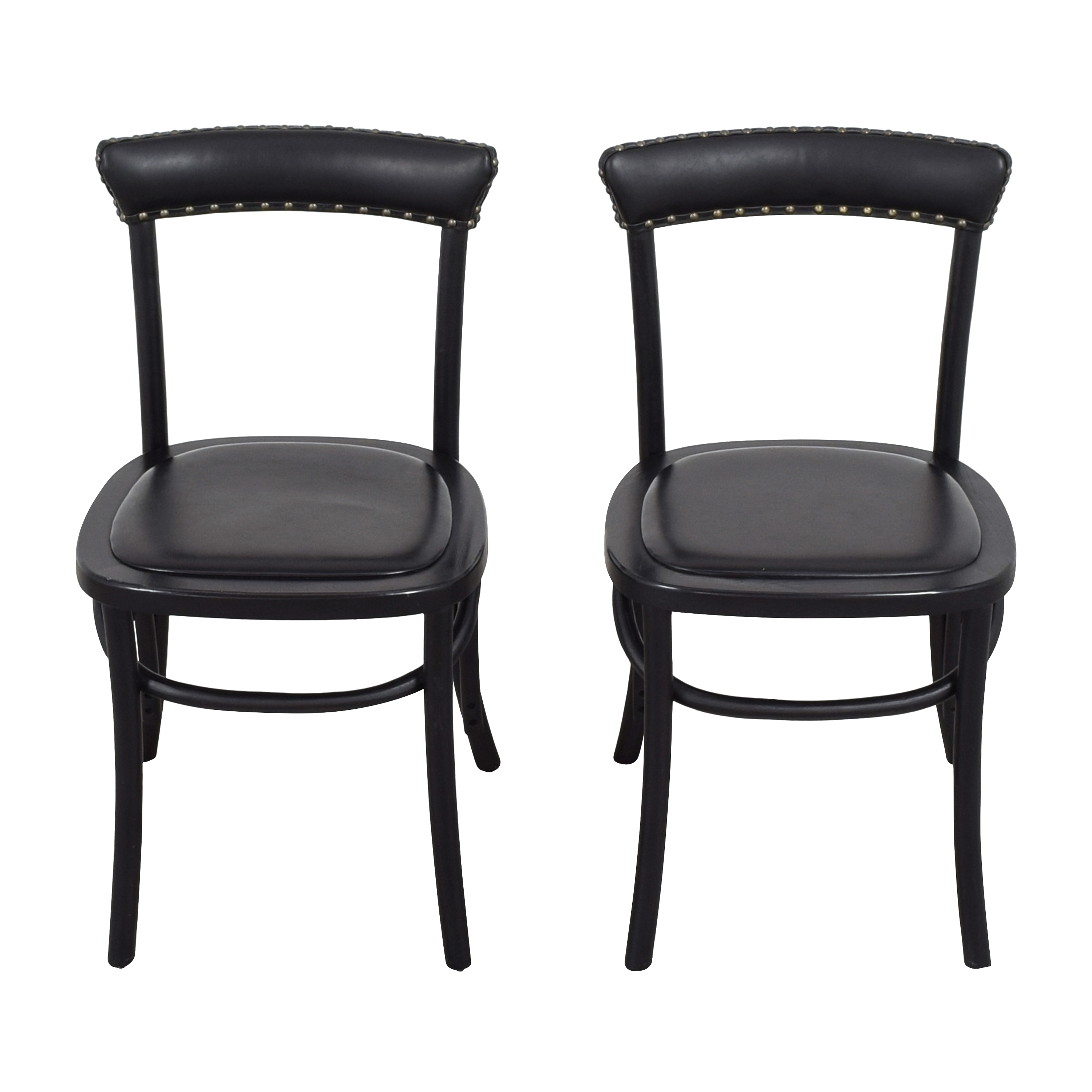 Pottery Barn Pottery Barn Lucas Bistro Dining Chairs black