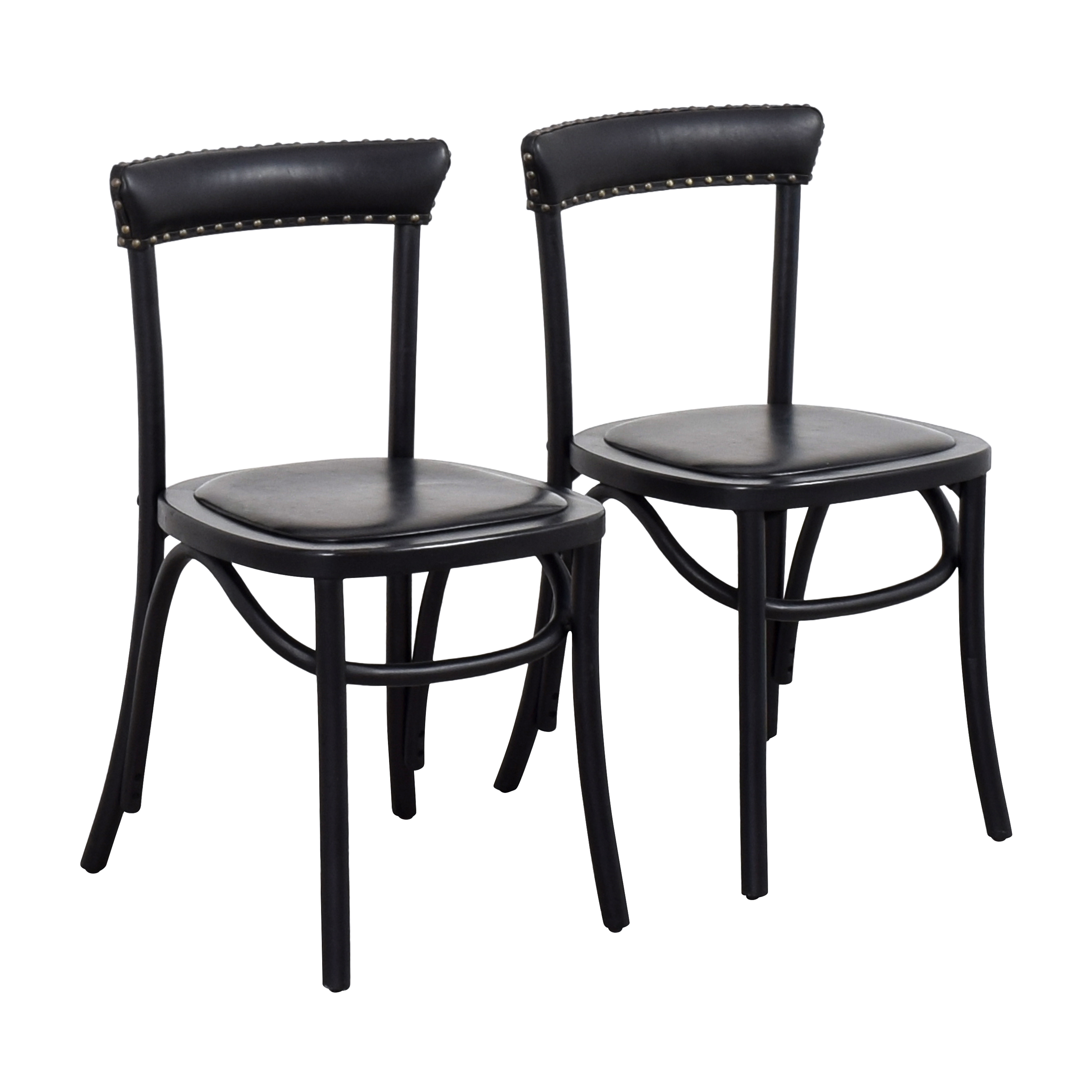 shop Pottery Barn Lucas Bistro Dining Chairs Pottery Barn