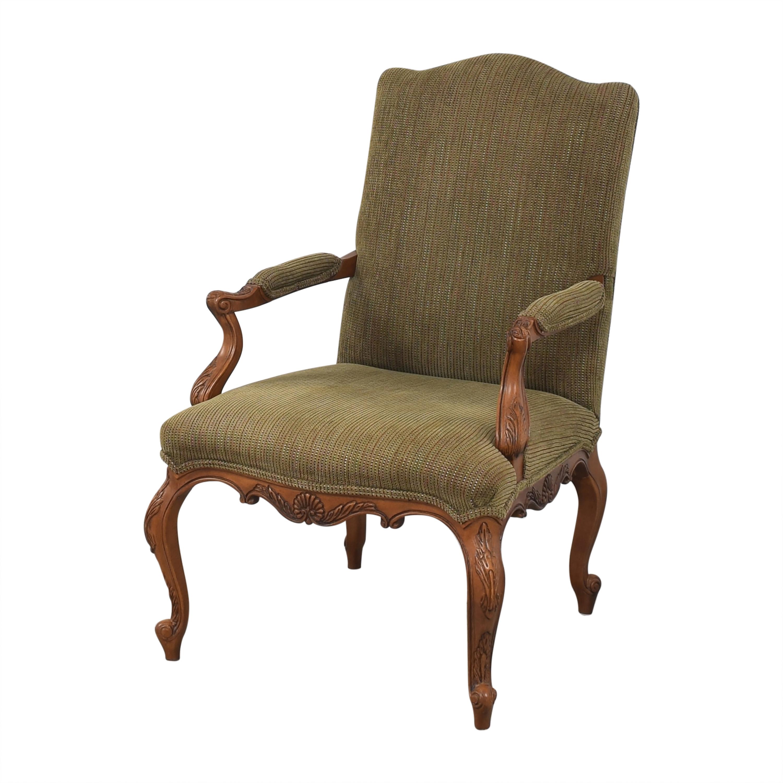 Drexel Heritage Drexel Heritage Accent Chair brown & green
