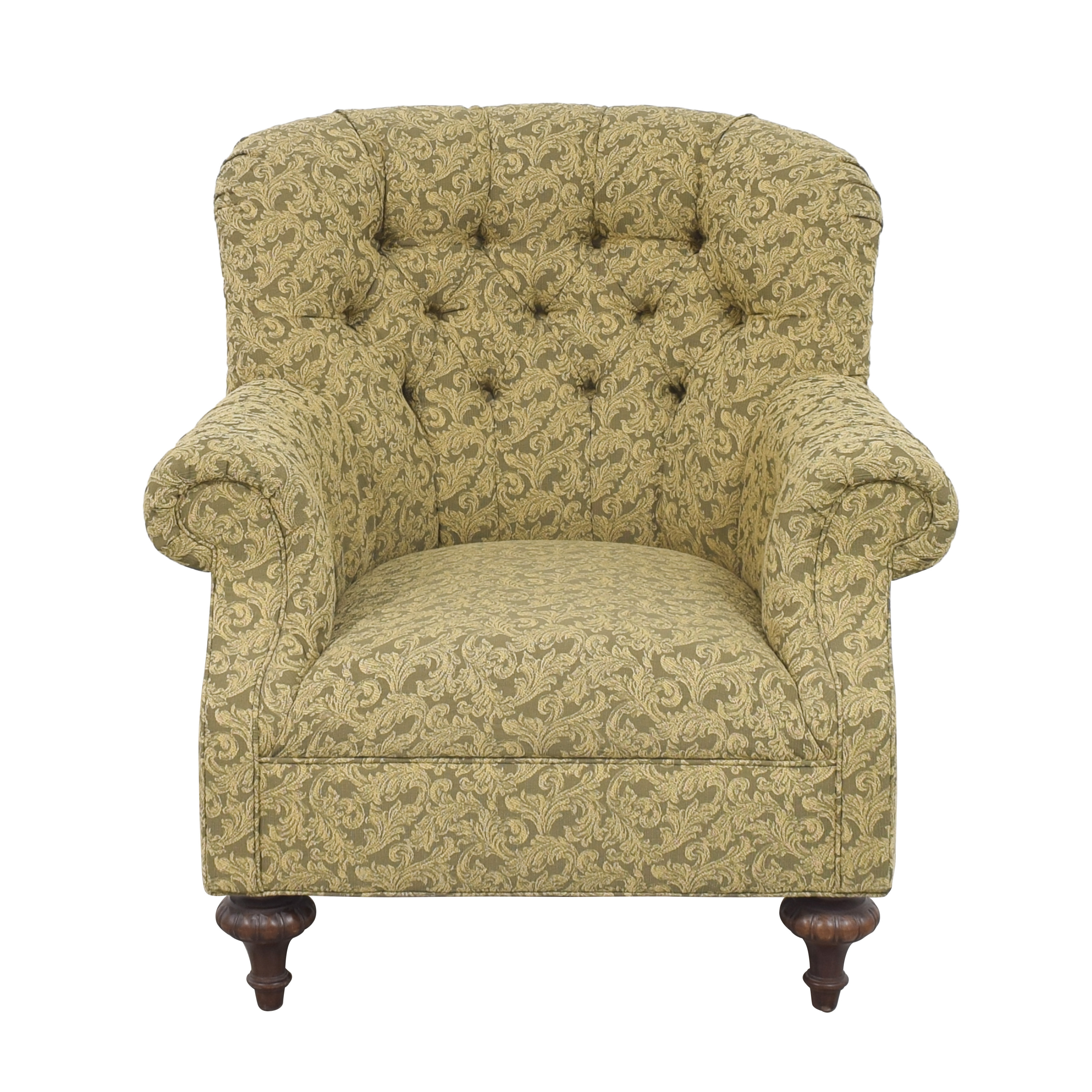 Domain Home Tufted Roll Arm Accent Chair Domain Home