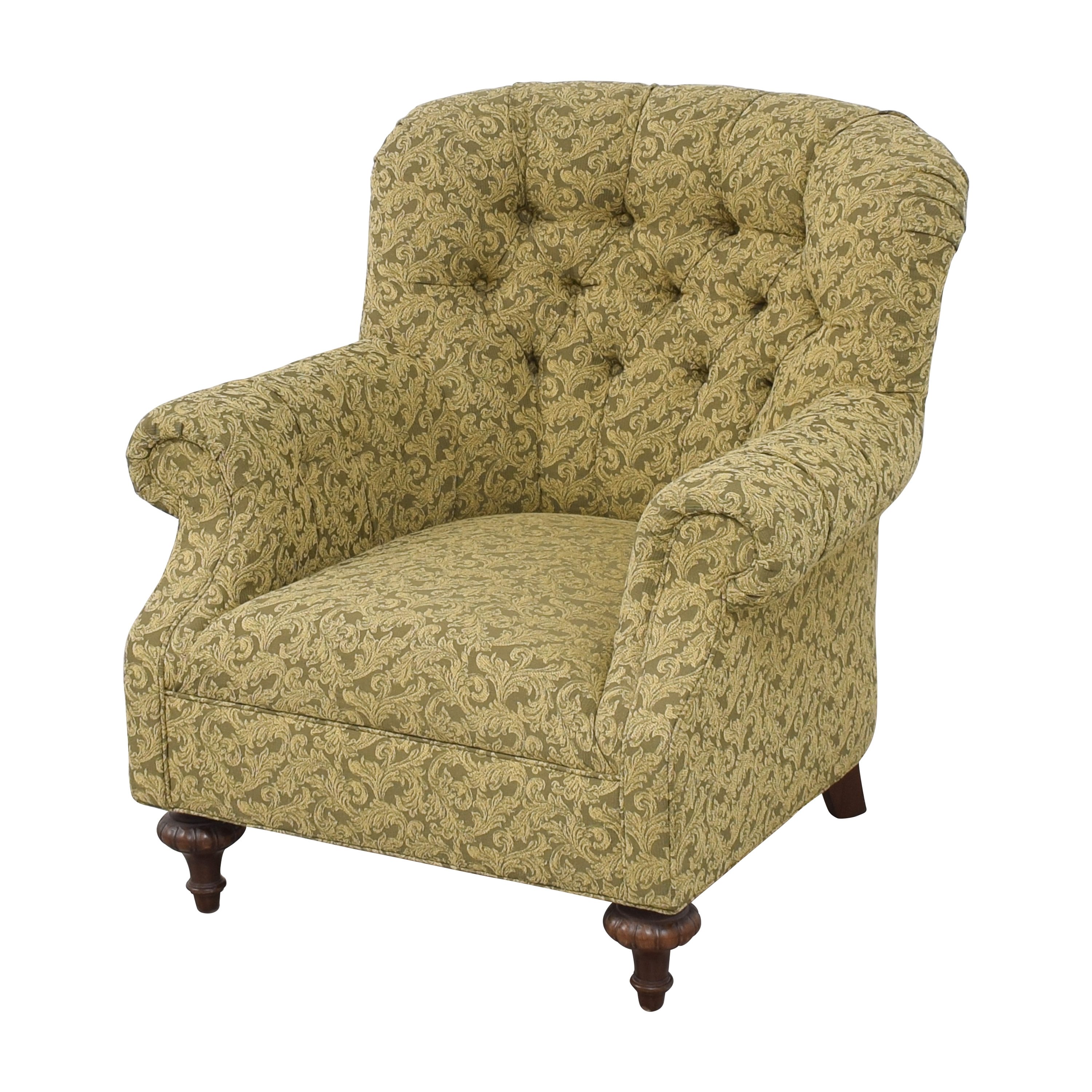 Domain Home Domain Home Tufted Roll Arm Accent Chair on sale