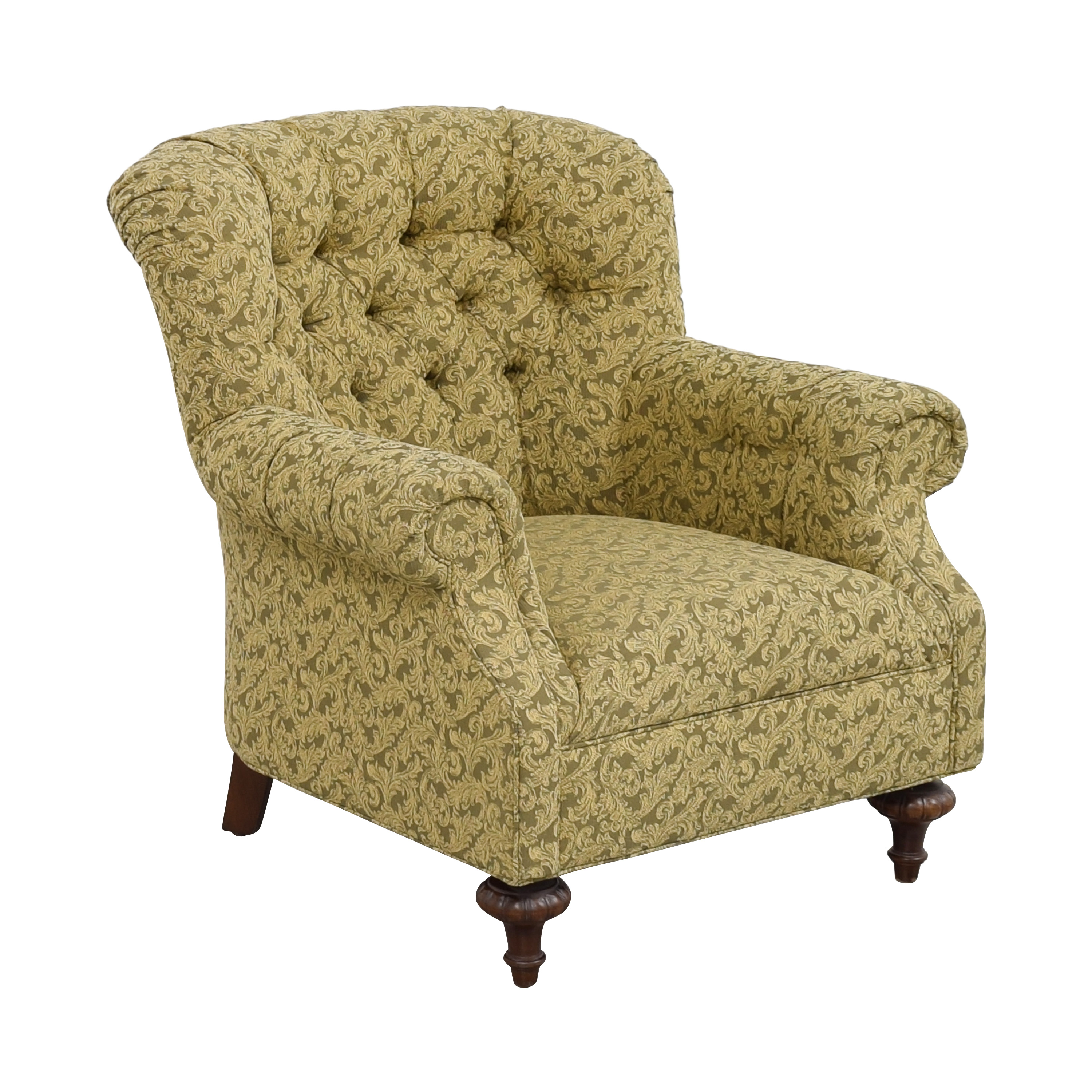 Domain Home Tufted Roll Arm Accent Chair / Chairs