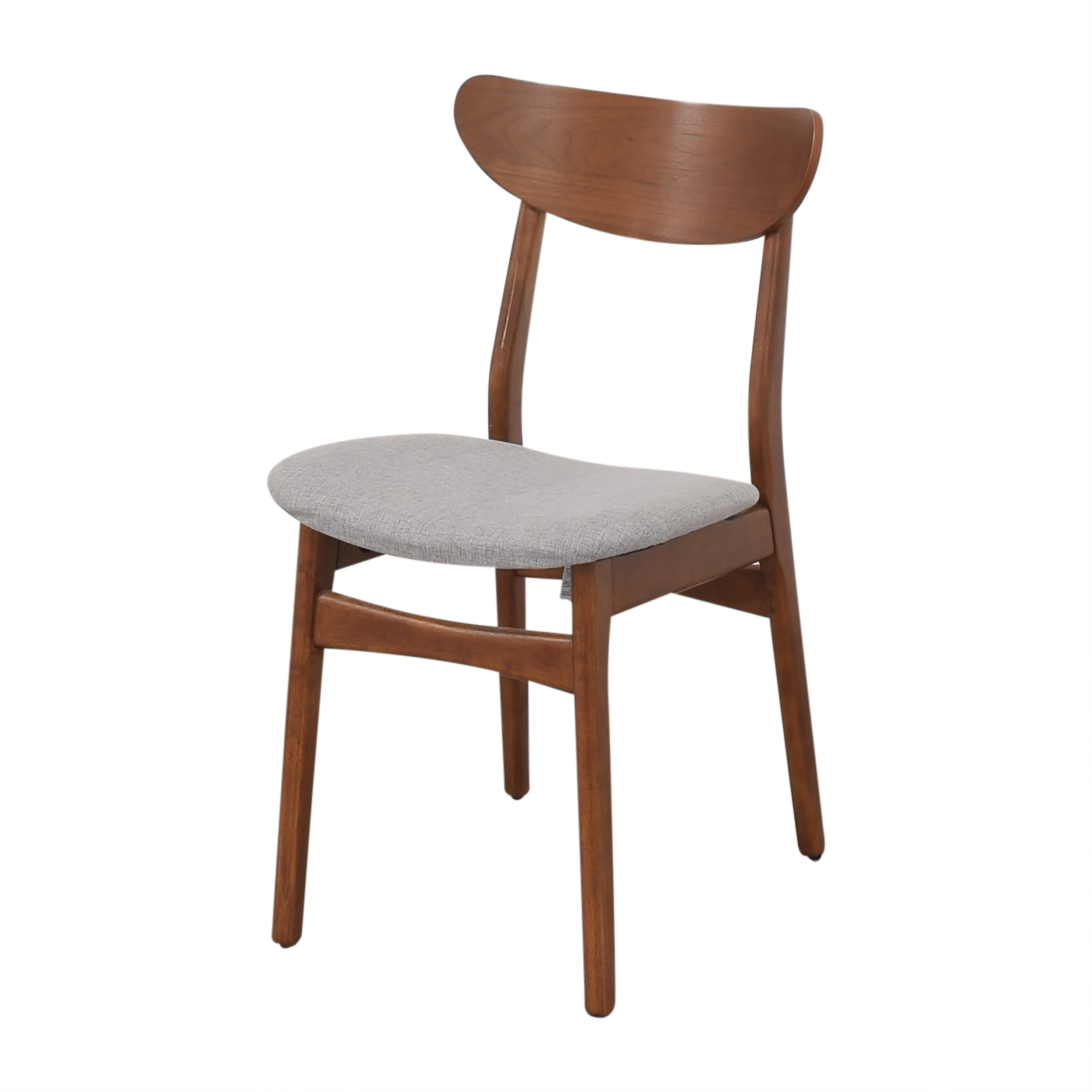 West Elm West Elm Classic Cafe Upholstered Dining Chairs second hand