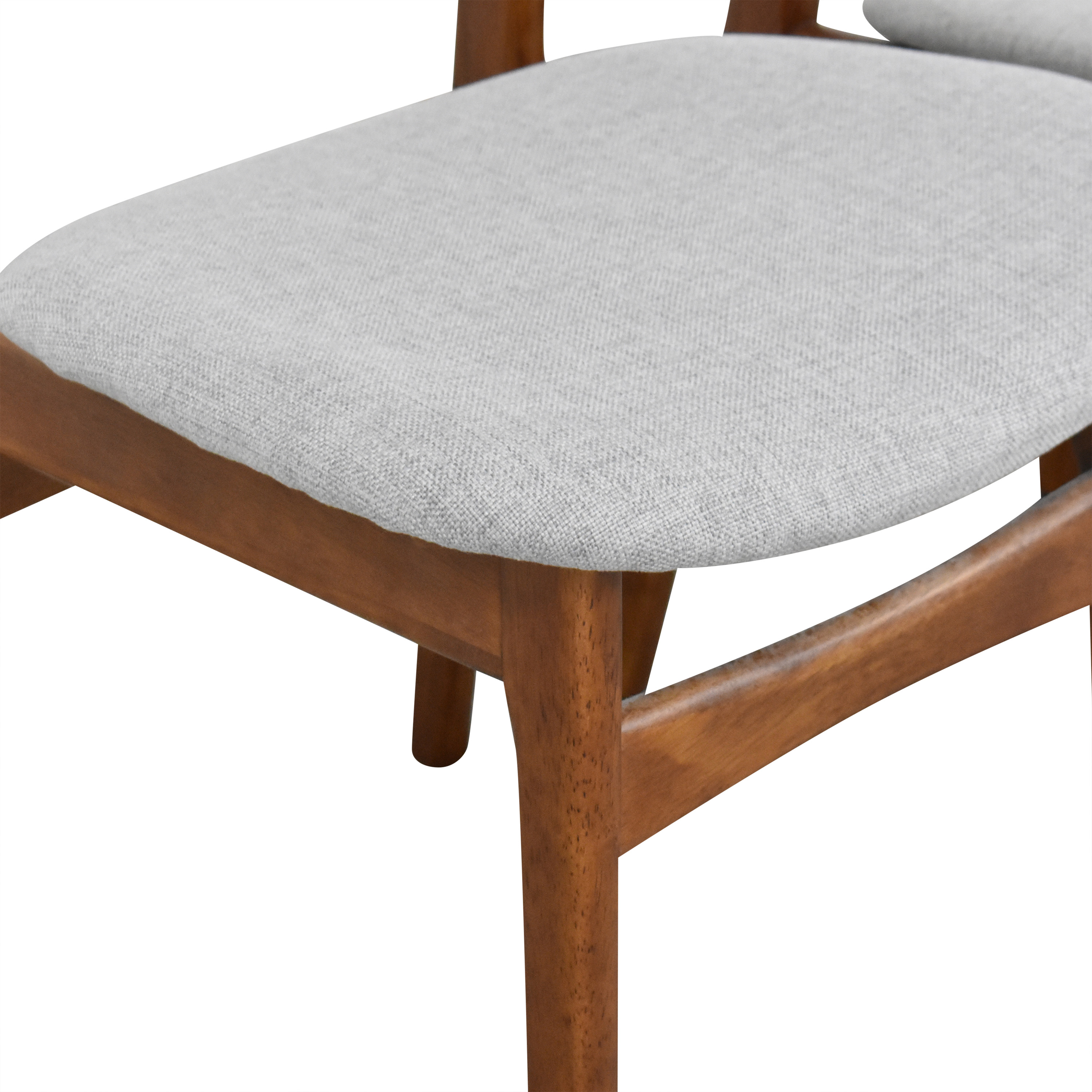 West Elm Classic Cafe Upholstered Dining Chairs sale