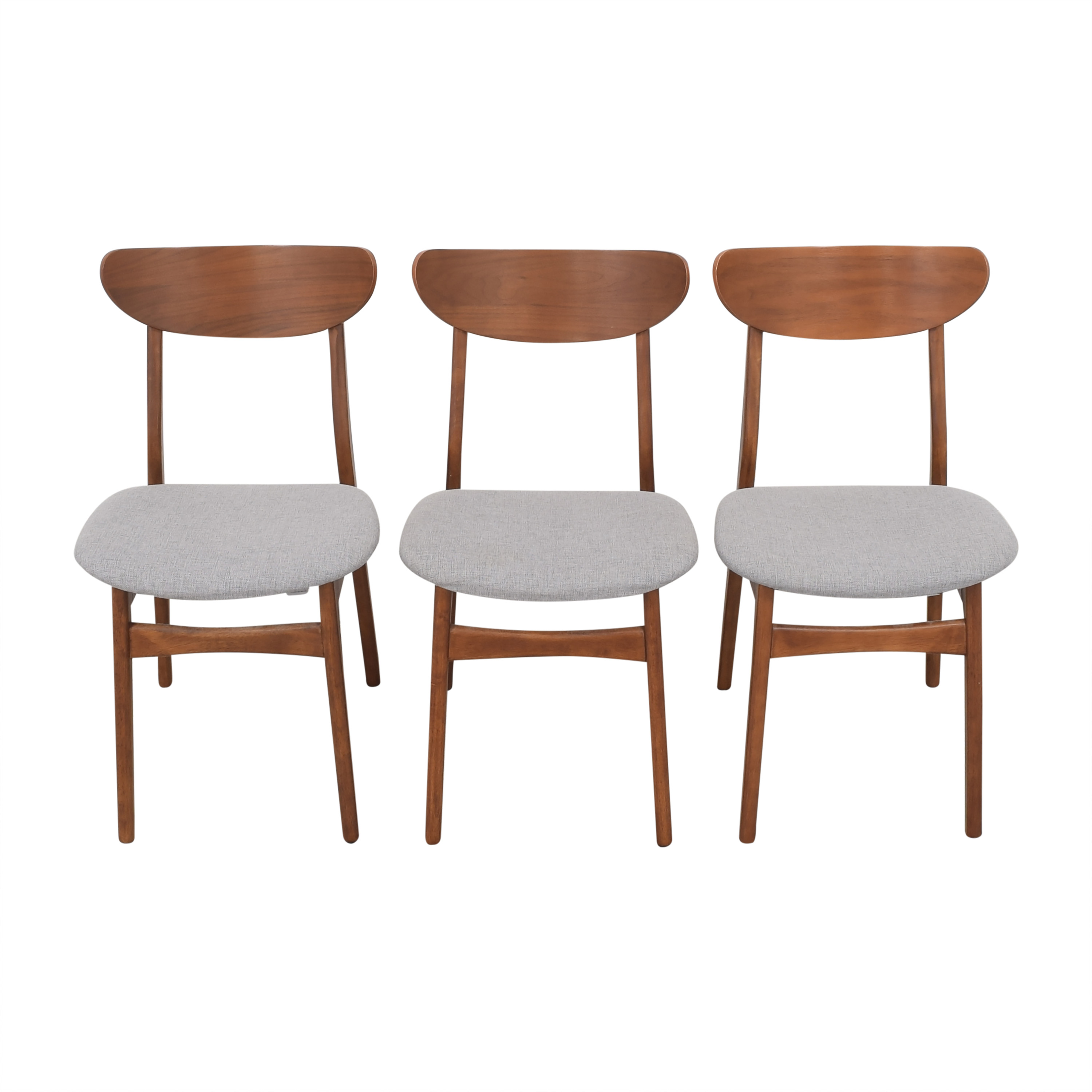 West Elm West Elm Classic Cafe Upholstered Dining Chairs nyc