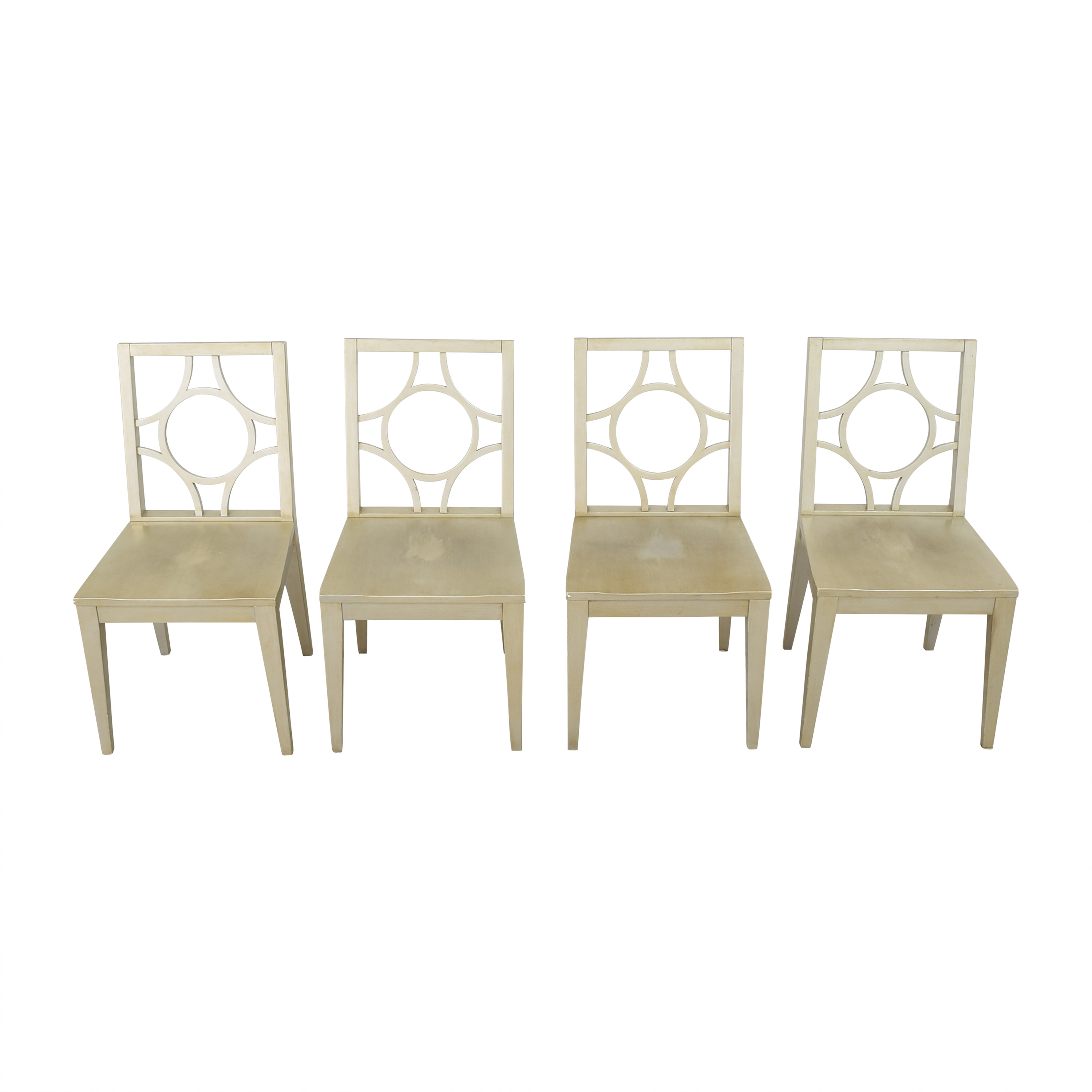 Crate & Barrel Crate & Barrel Dining Side Chairs dimensions