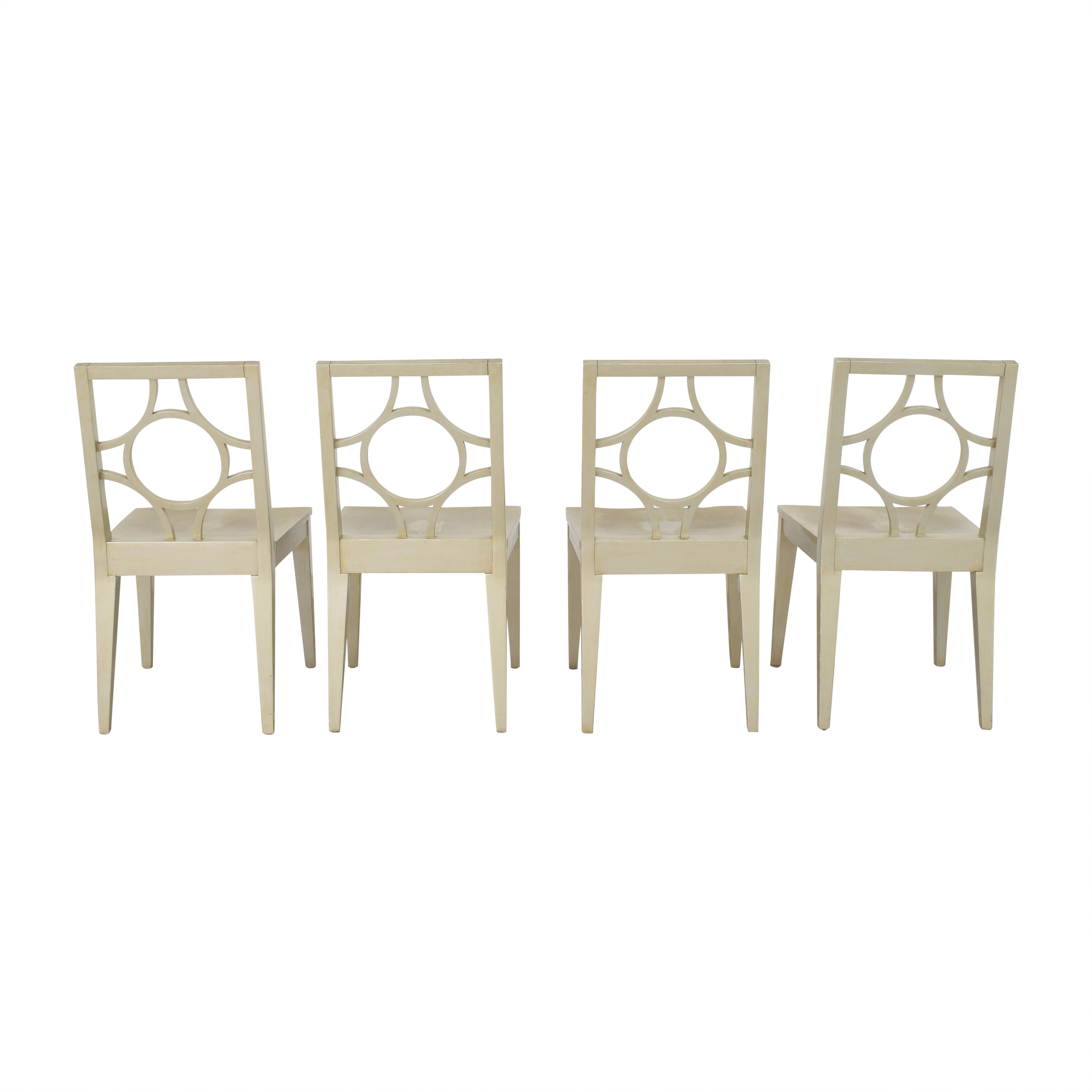 Crate & Barrel Crate & Barrel Dining Side Chairs second hand