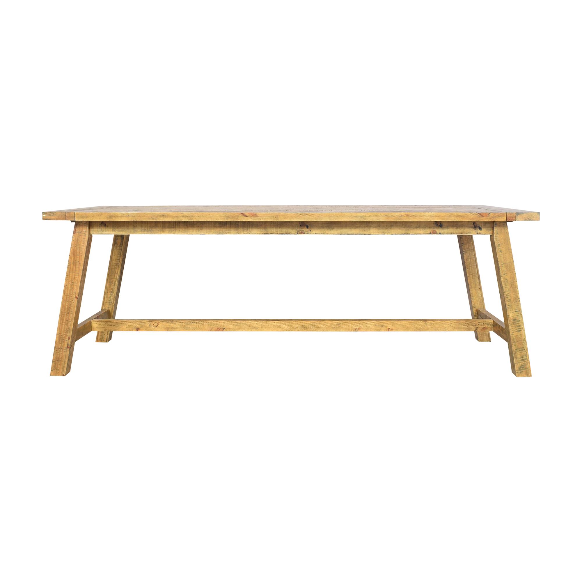 Jofran Jofran Telluride Counter Height Trestle Table on sale