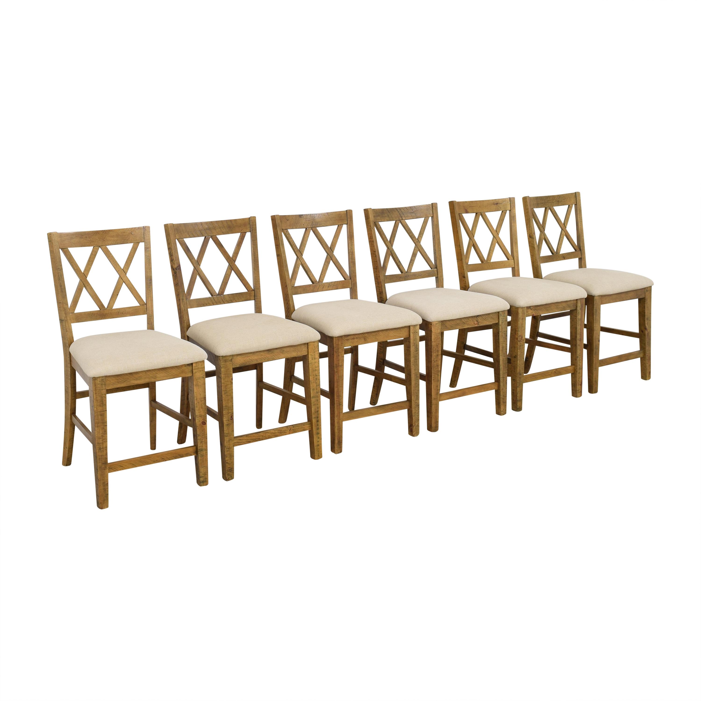 Pilgrim Furniture Pilgrim Furniture Telluride Counter Stools brown, beige