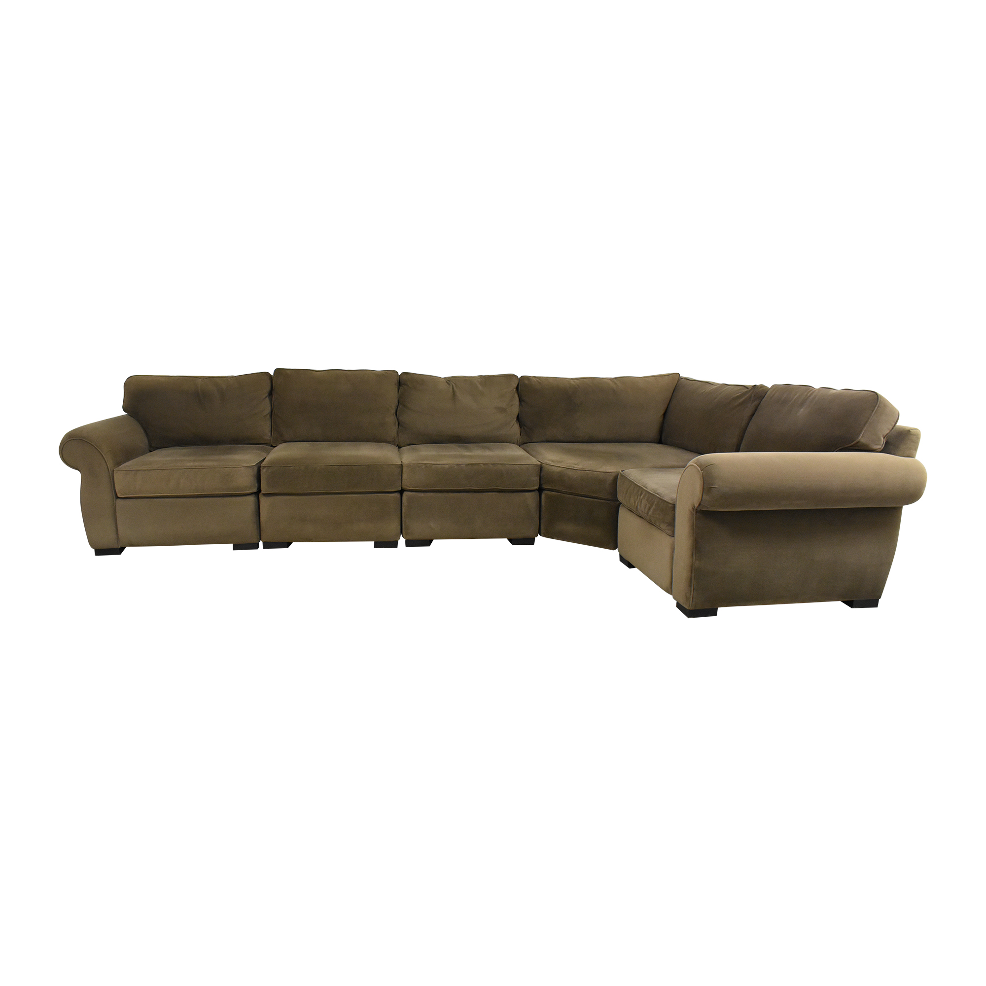 Macy's Macy's Trevor Five Piece Sectional Sofa nj