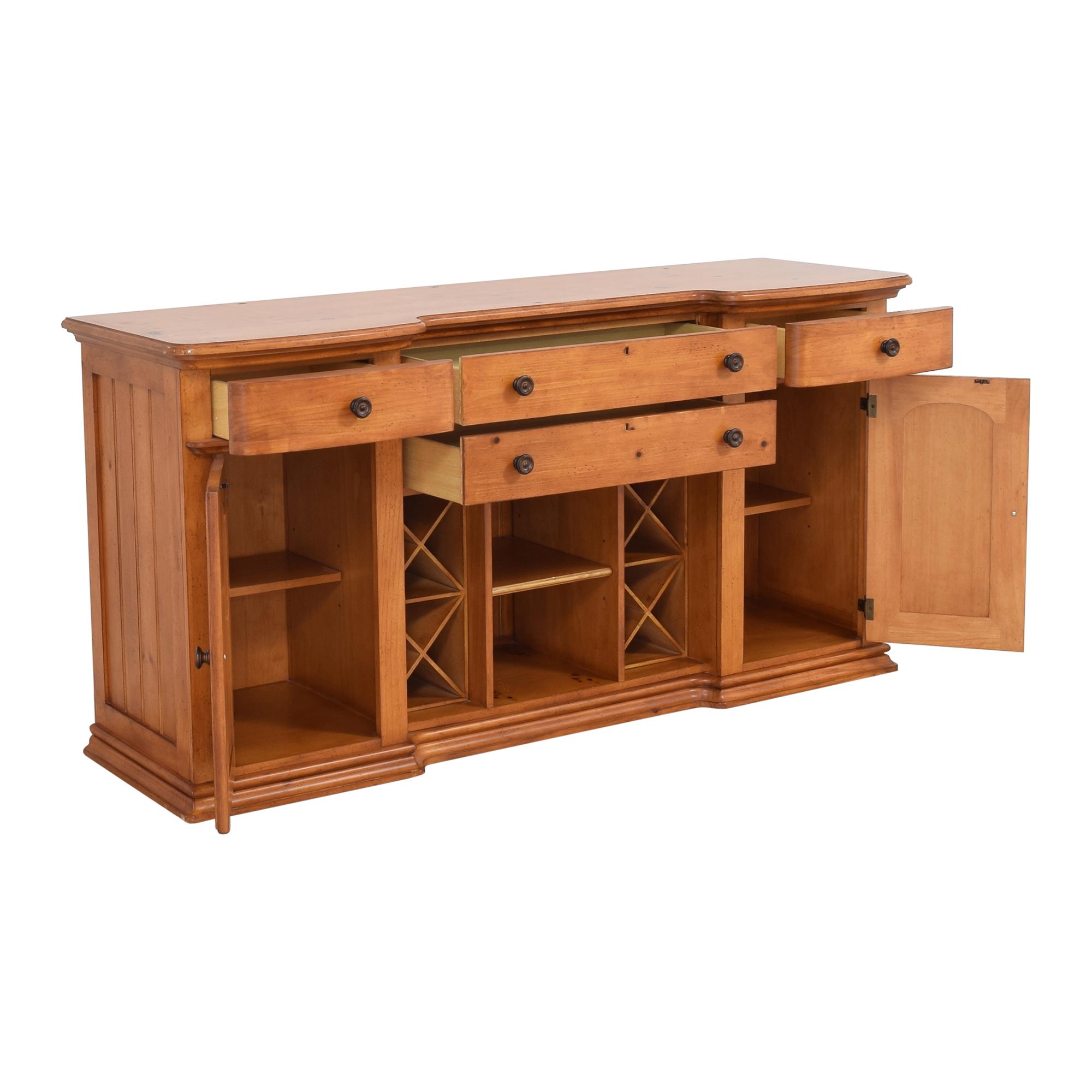 Stanley Furniture Stanley Furniture Cottage Revival Vineyard Service Cabinet discount