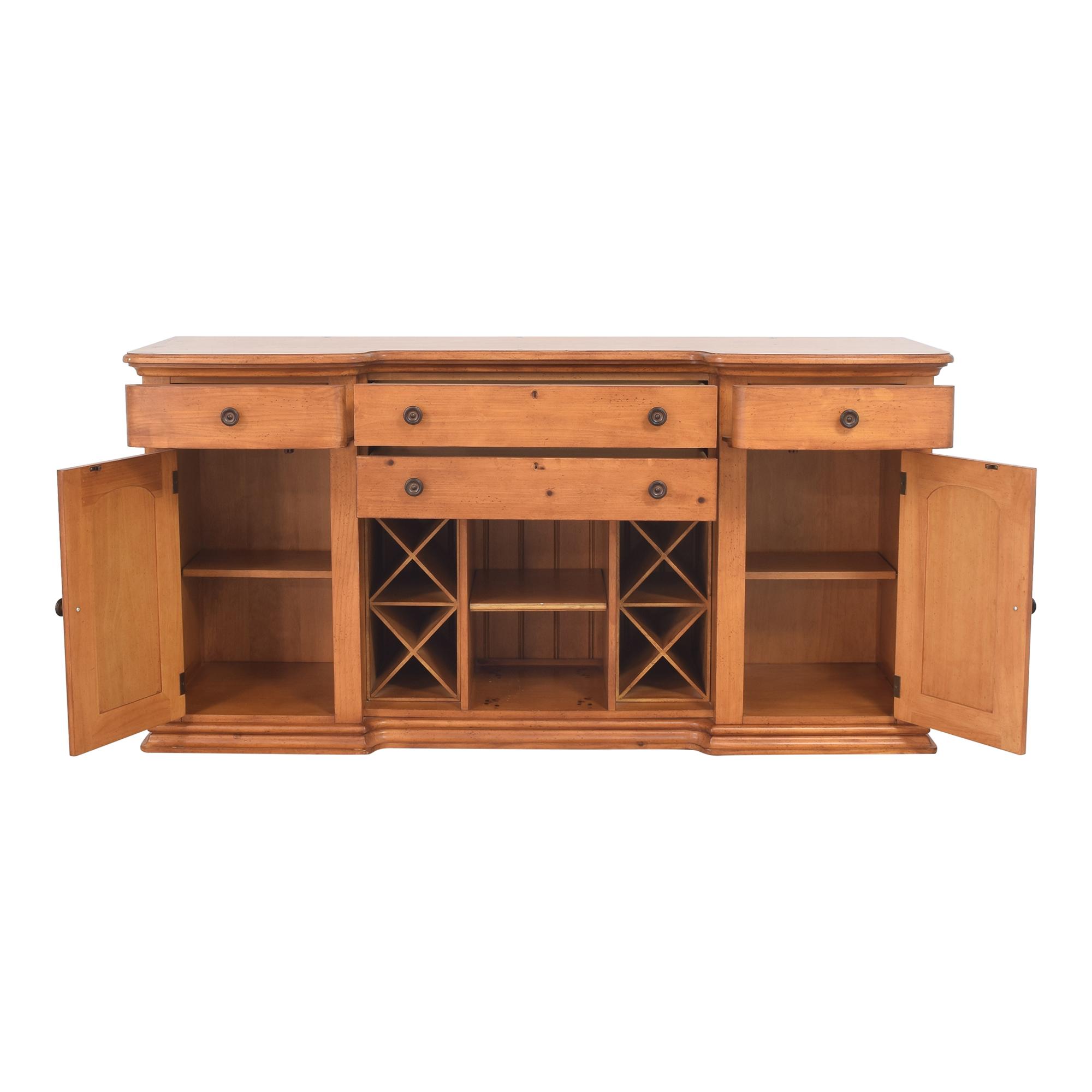 Stanley Furniture Cottage Revival Vineyard Service Cabinet / Storage