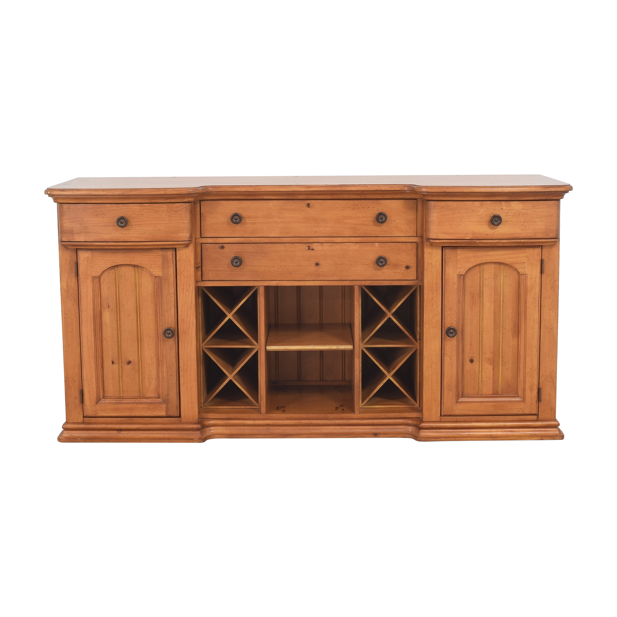 Stanley Furniture Stanley Furniture Cottage Revival Vineyard Service Cabinet Storage