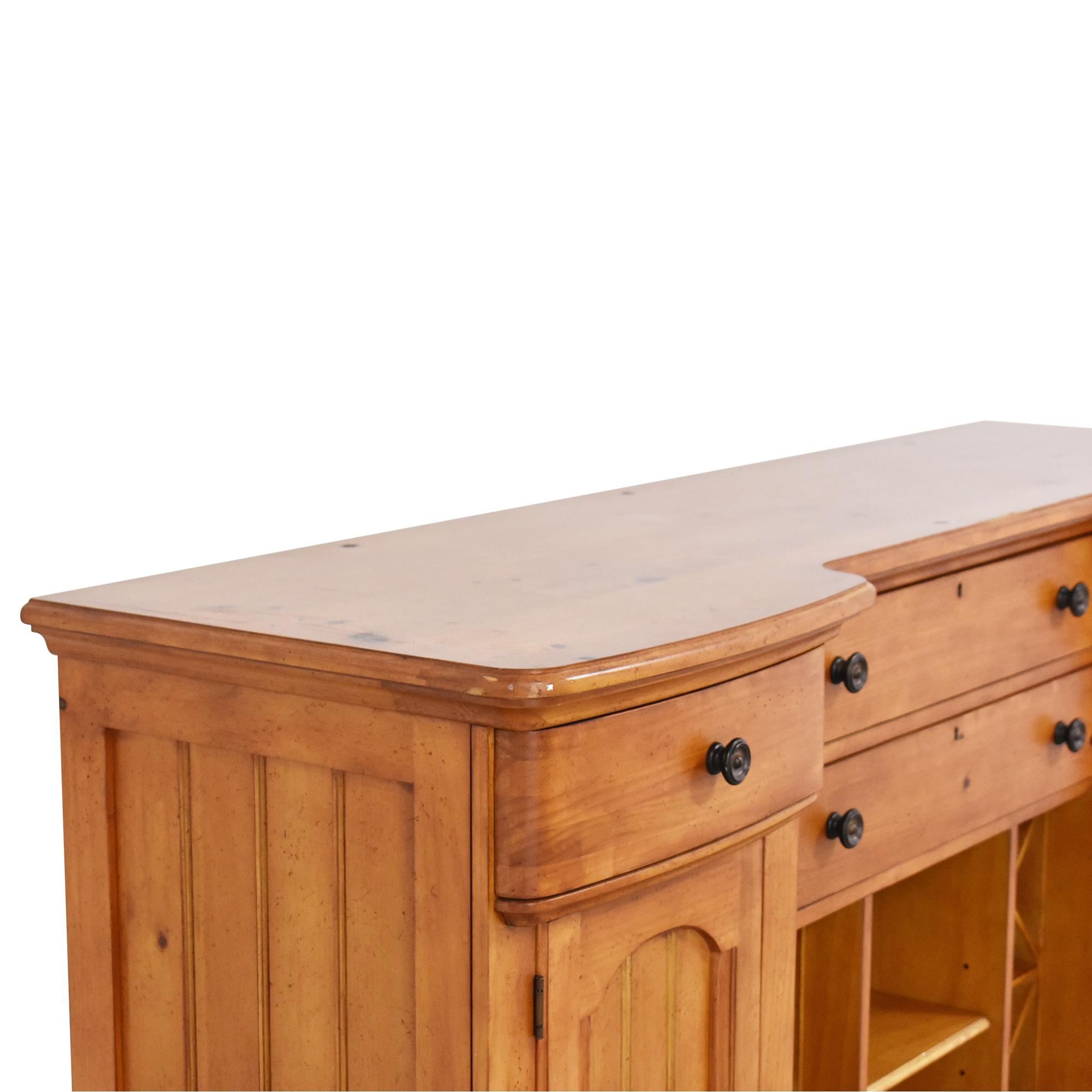 Stanley Furniture Cottage Revival Vineyard Service Cabinet sale