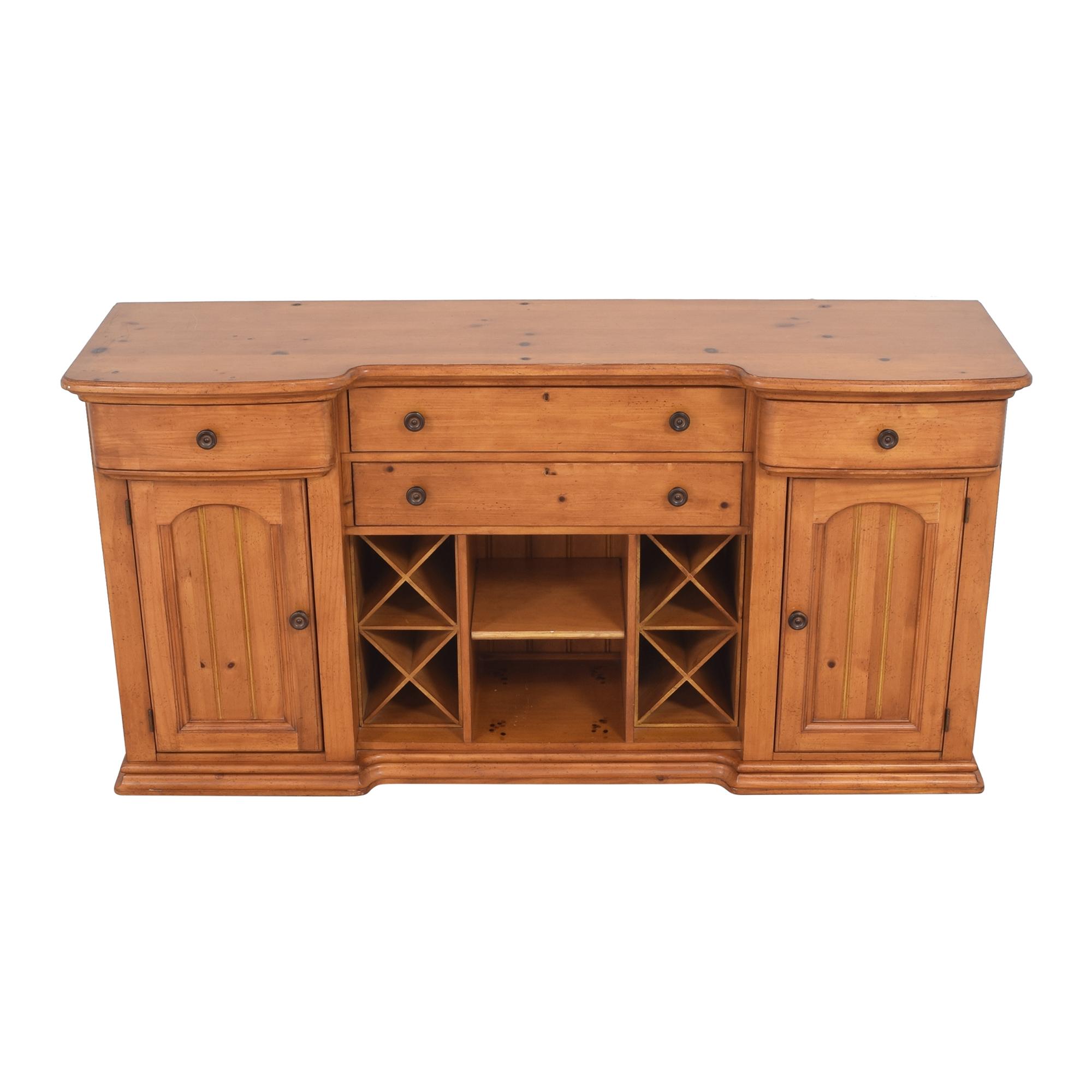 Stanley Furniture Stanley Furniture Cottage Revival Vineyard Service Cabinet pa