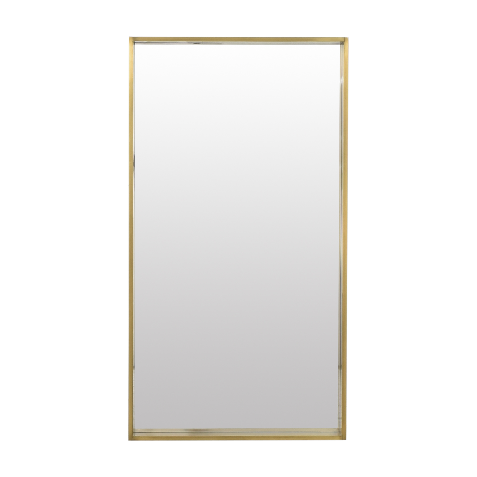 Restoration Hardware Restoration Hardware Dovetail Narrow Frame Mirror gold