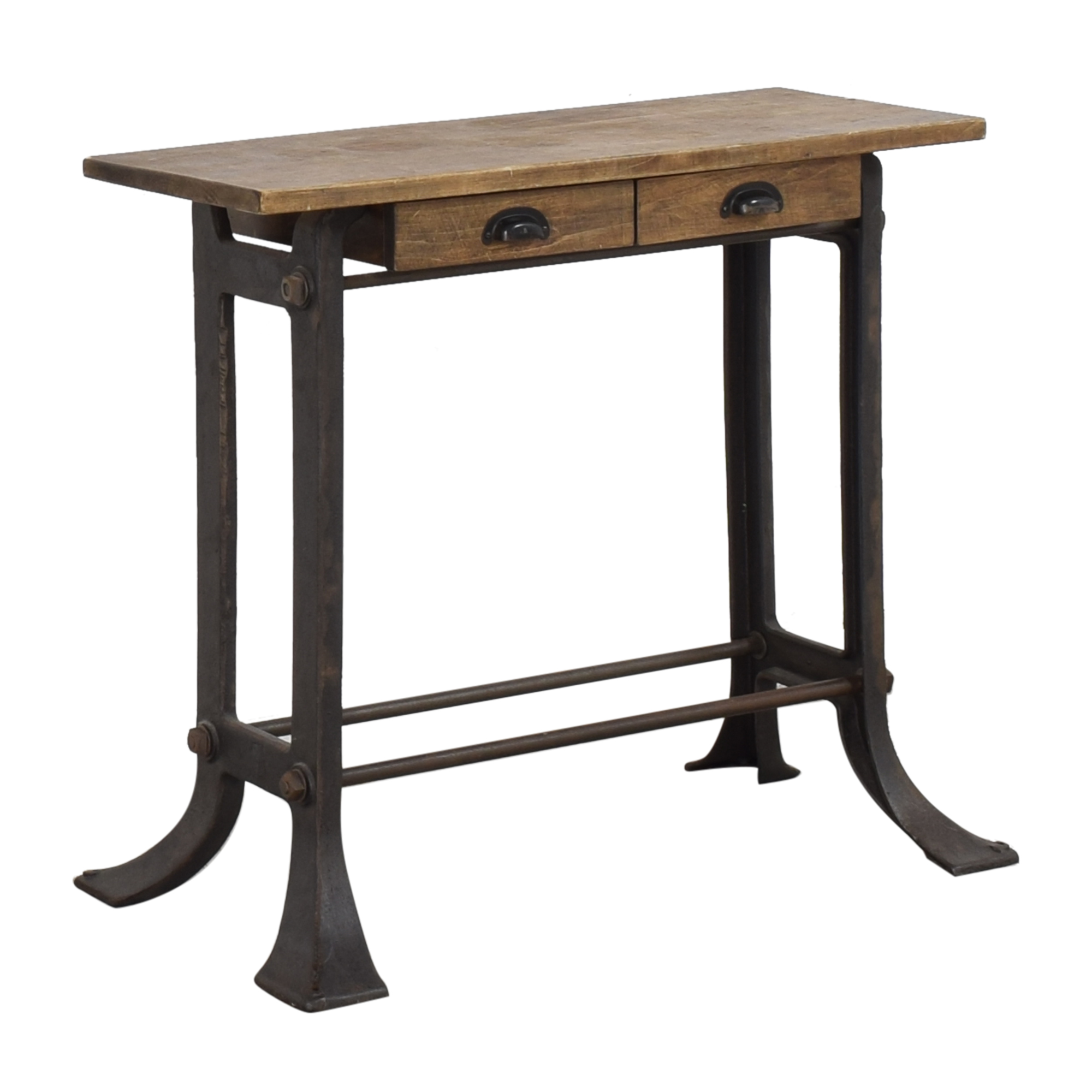 Get Back Get Back Industrial Console Table nj