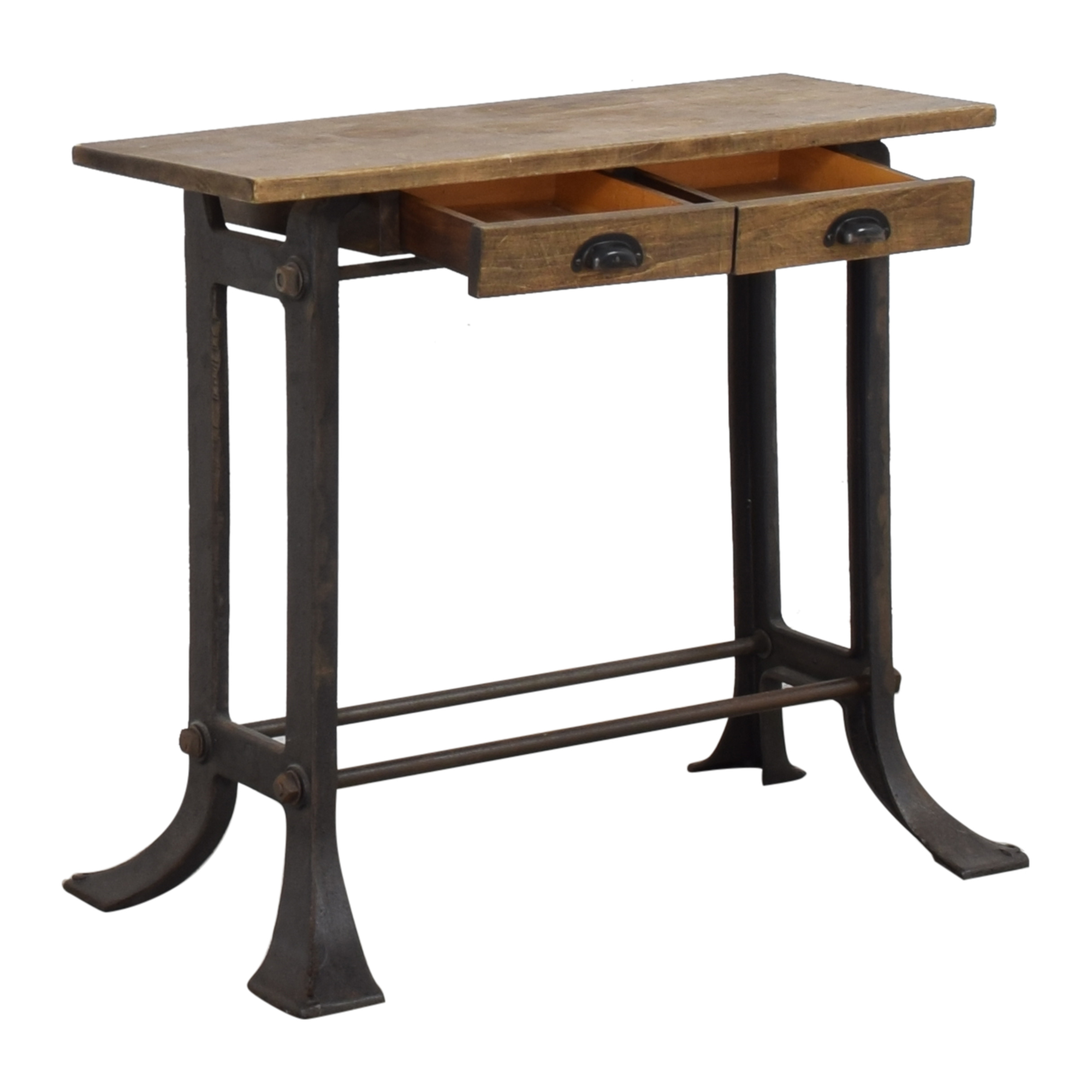 Get Back Get Back Industrial Console Table second hand