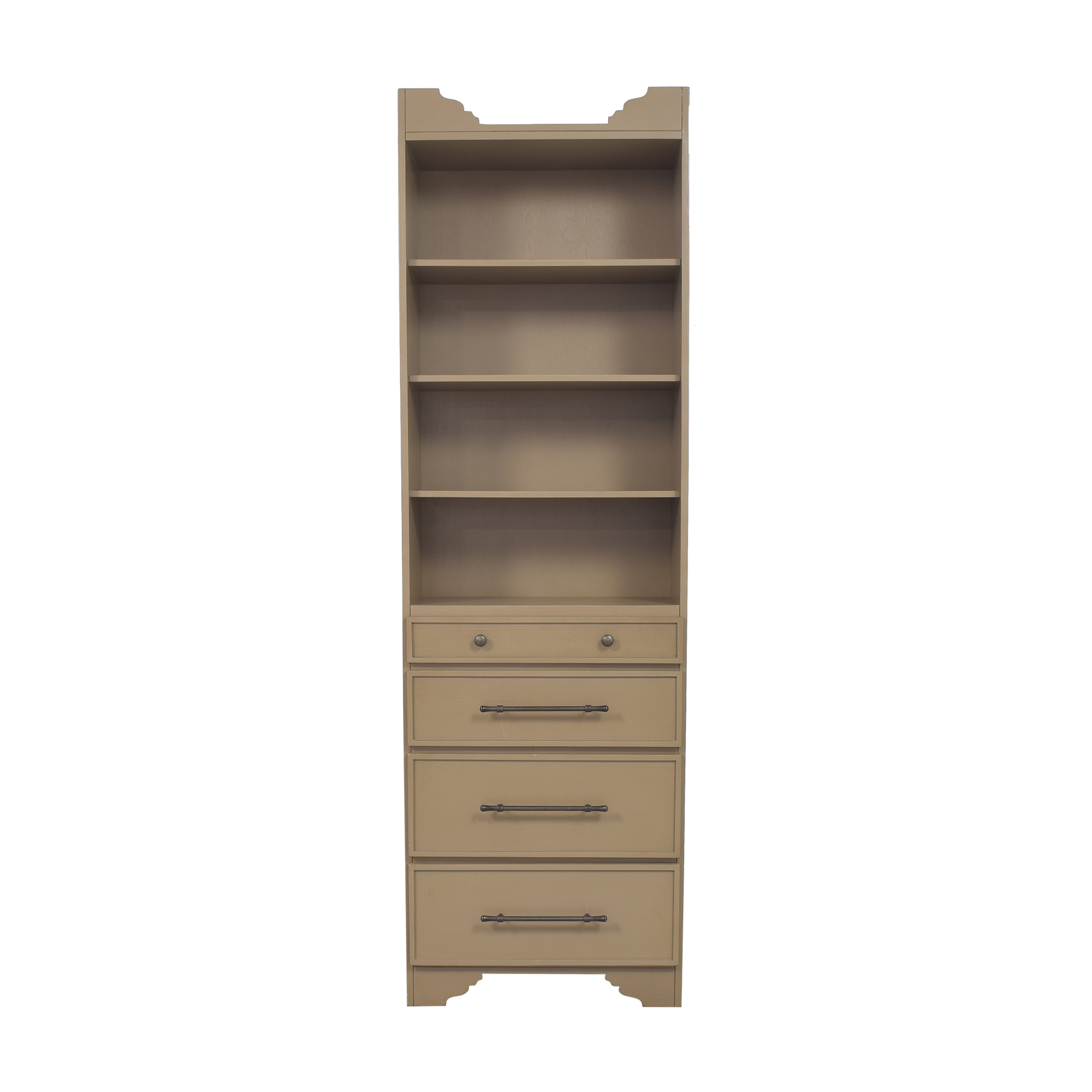 Ballard Designs Ballard Designs Sarah Storage Tower with Drawers dimensions
