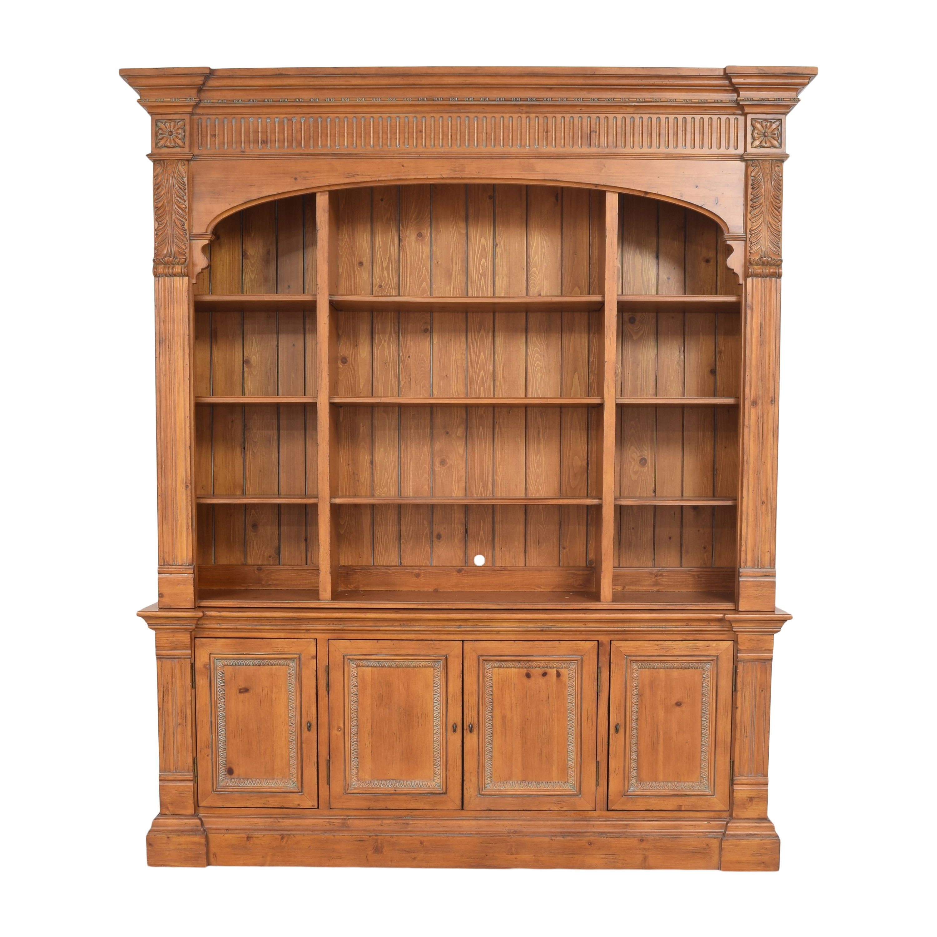Ethan Allen Townhouse Library Bookcase / Bookcases & Shelving