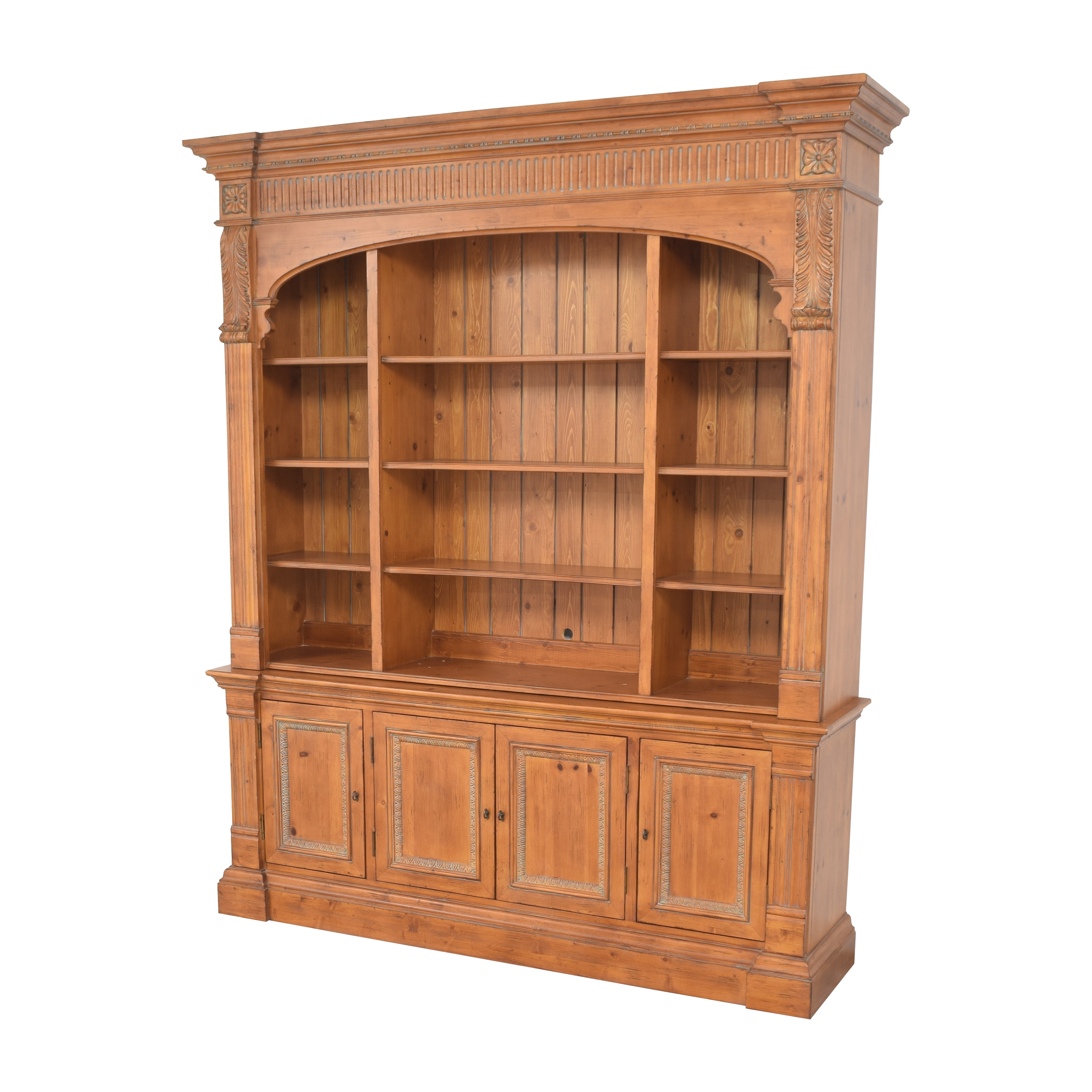 Ethan Allen Ethan Allen Townhouse Library Bookcase dimensions