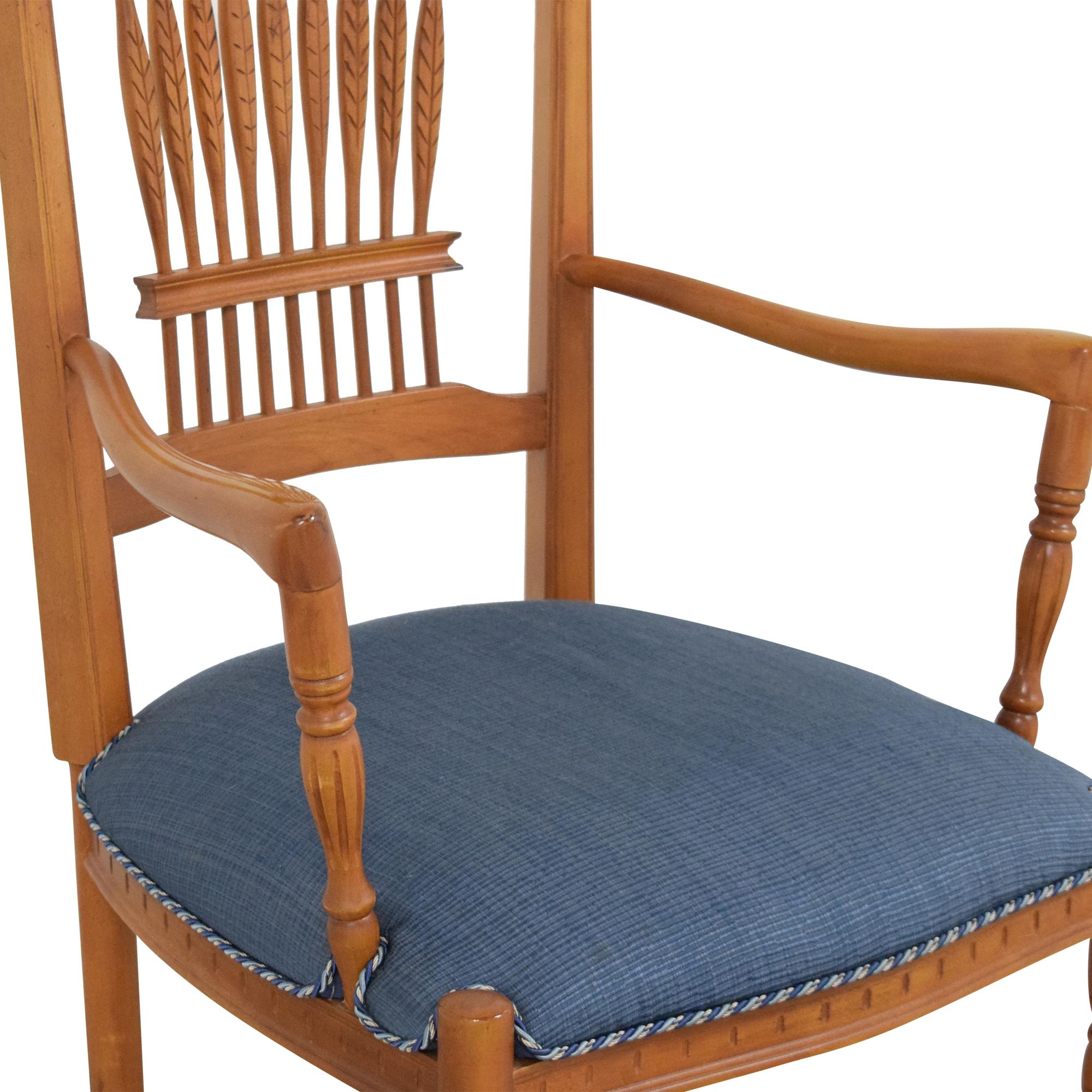 shop Ethan Allen Wheatback Chair Ethan Allen