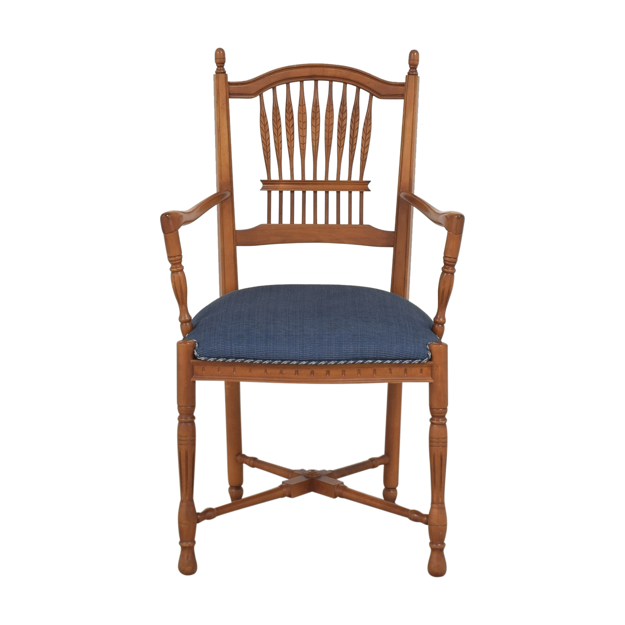 Ethan Allen Wheatback Chair sale