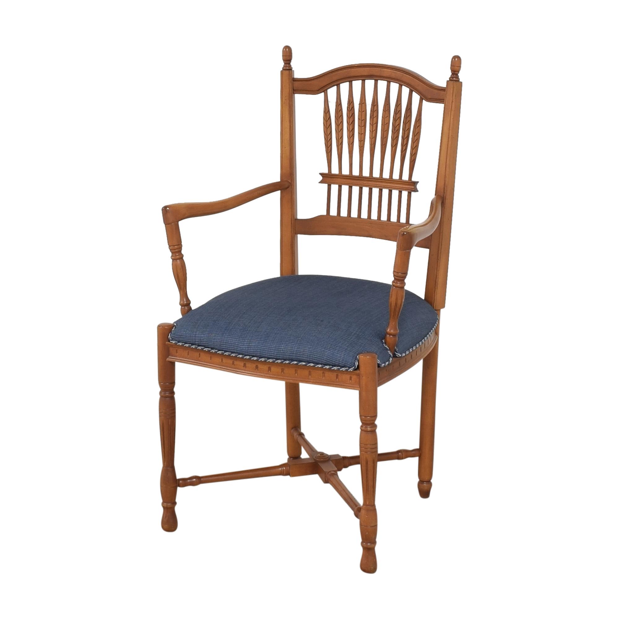 Ethan Allen Ethan Allen Wheatback Chair Accent Chairs