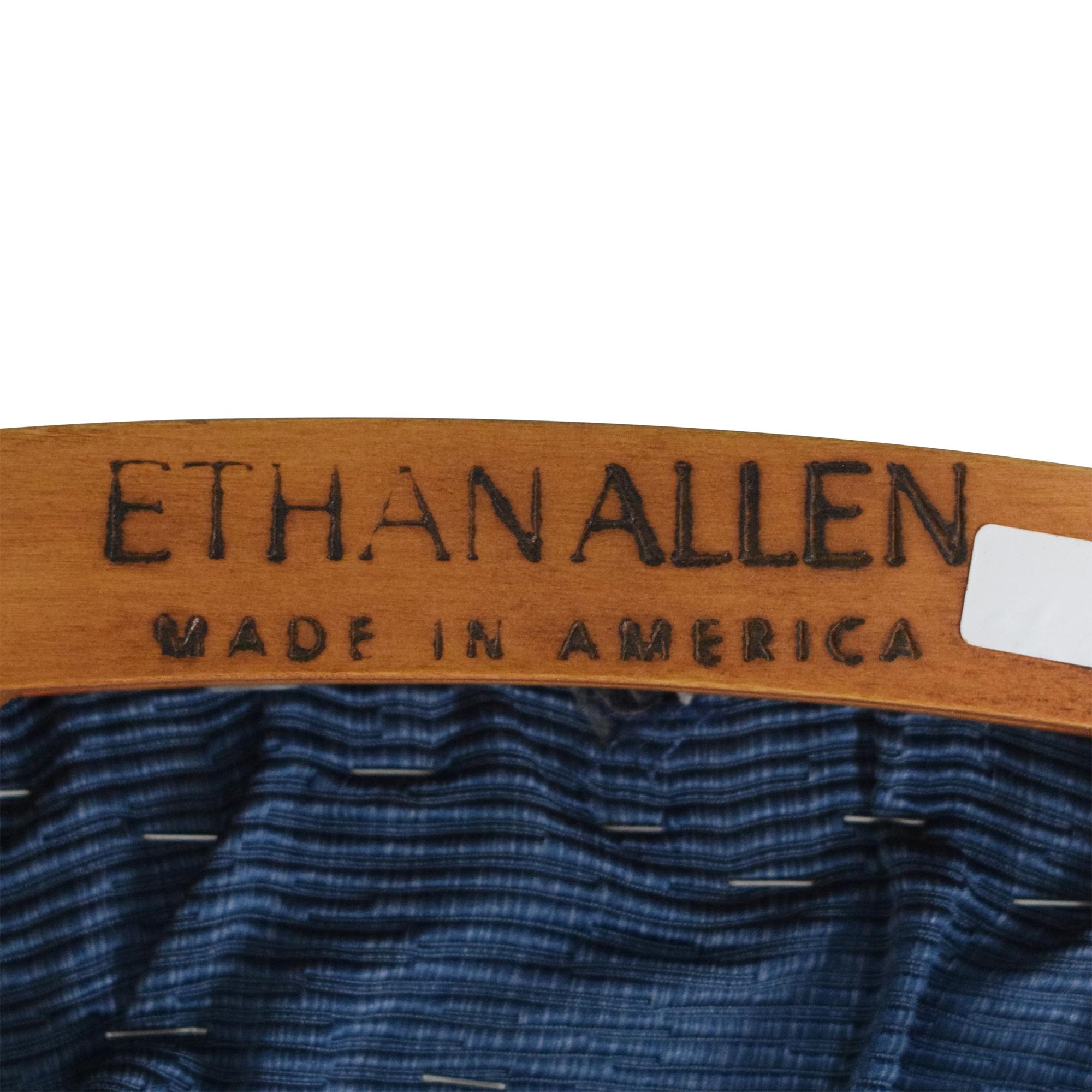 shop Ethan Allen Wheatback Chair Ethan Allen Accent Chairs