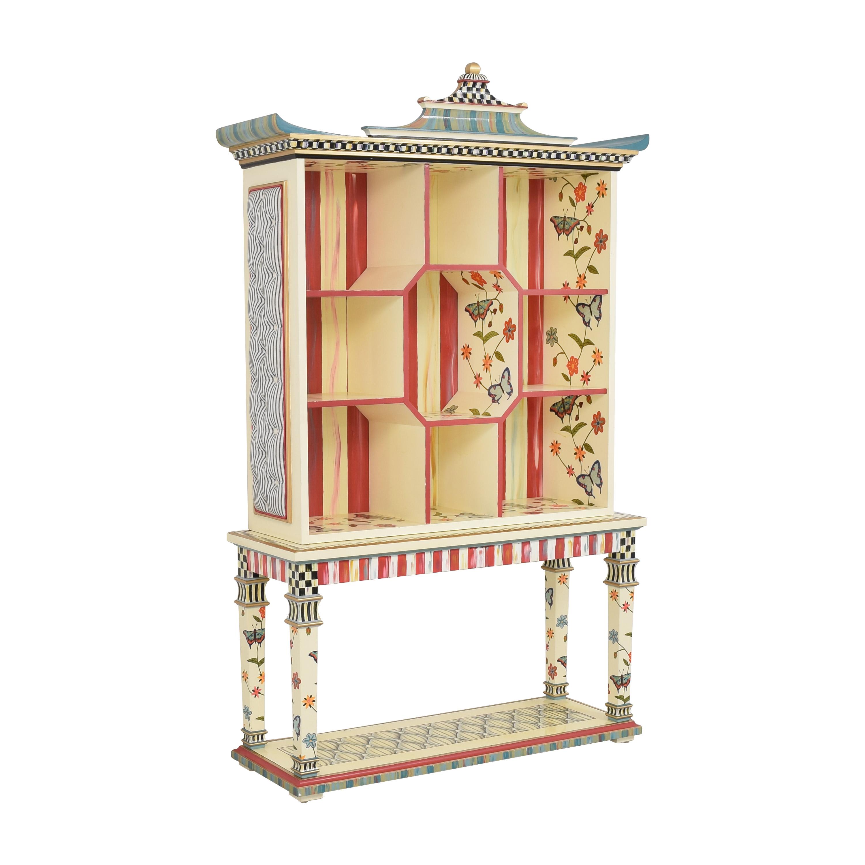 shop MacKenzie-Childs Decorative Breakfront MacKenzie-Childs Bookcases & Shelving