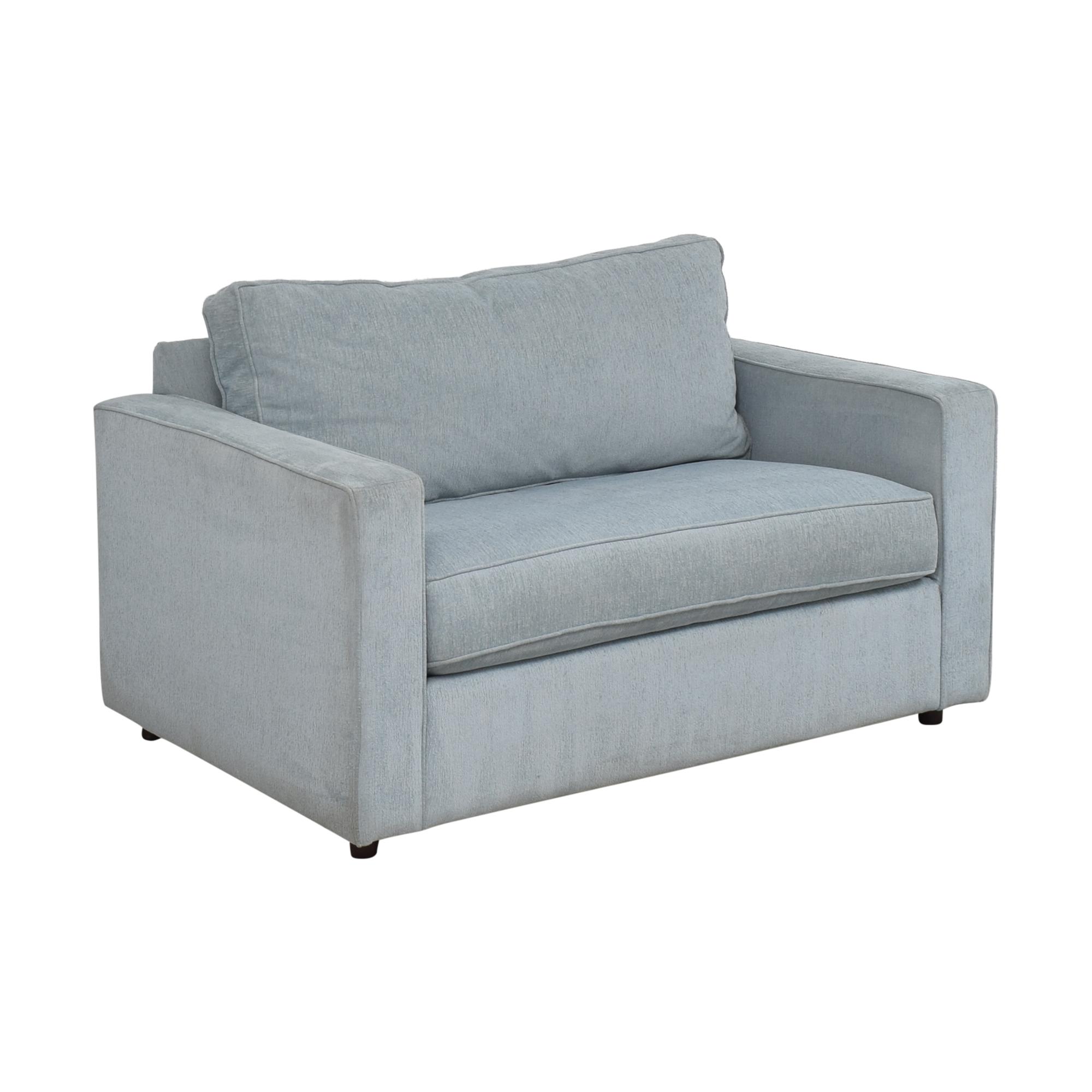 Arhaus Arhaus Filmore Twin Sleeper Chair Sofas