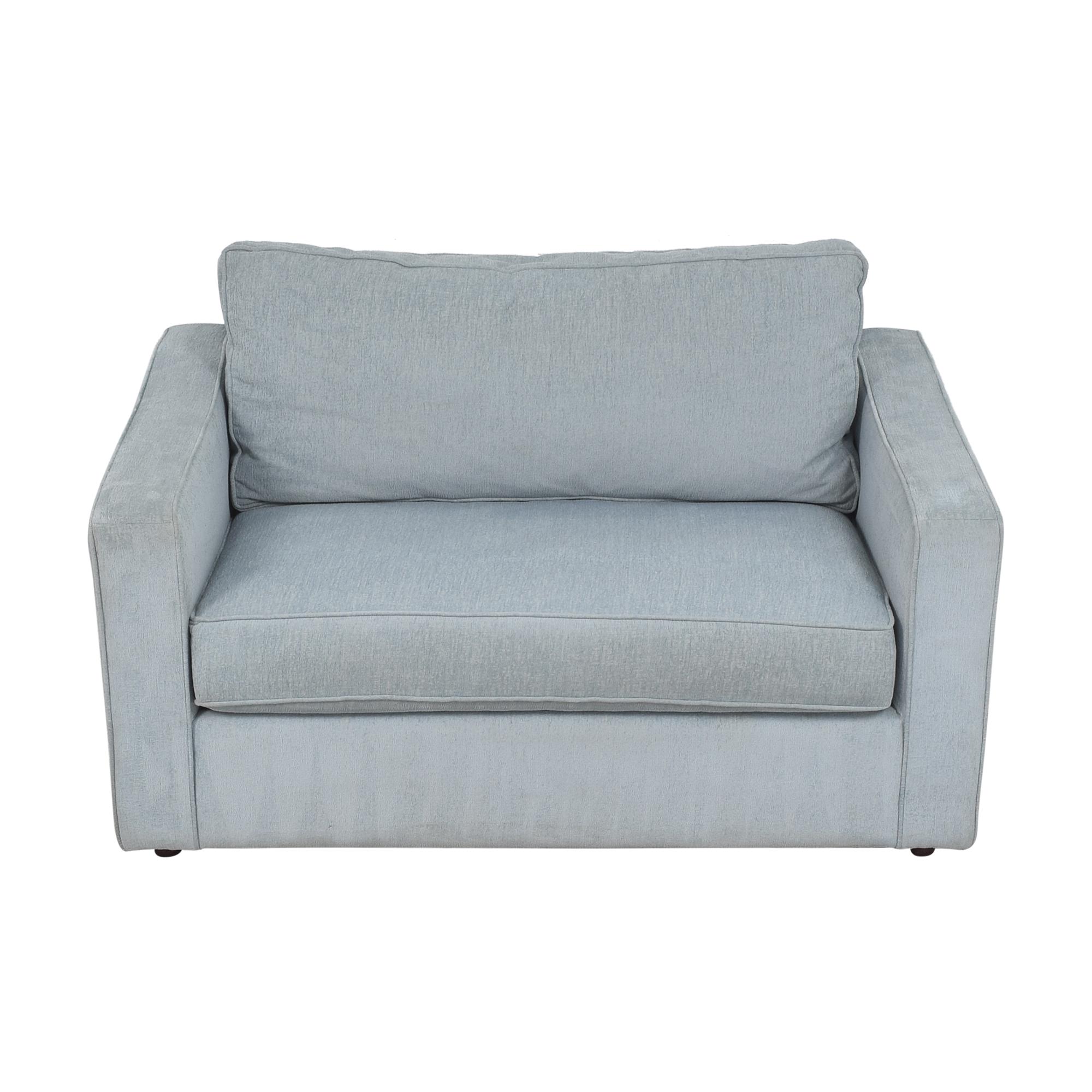 Arhaus Arhaus Filmore Twin Sleeper Chair nyc