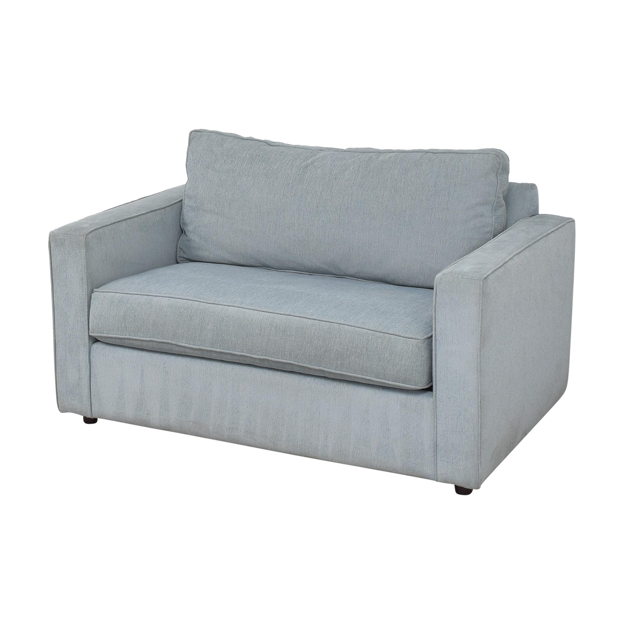 shop Arhaus Filmore Twin Sleeper Chair Arhaus