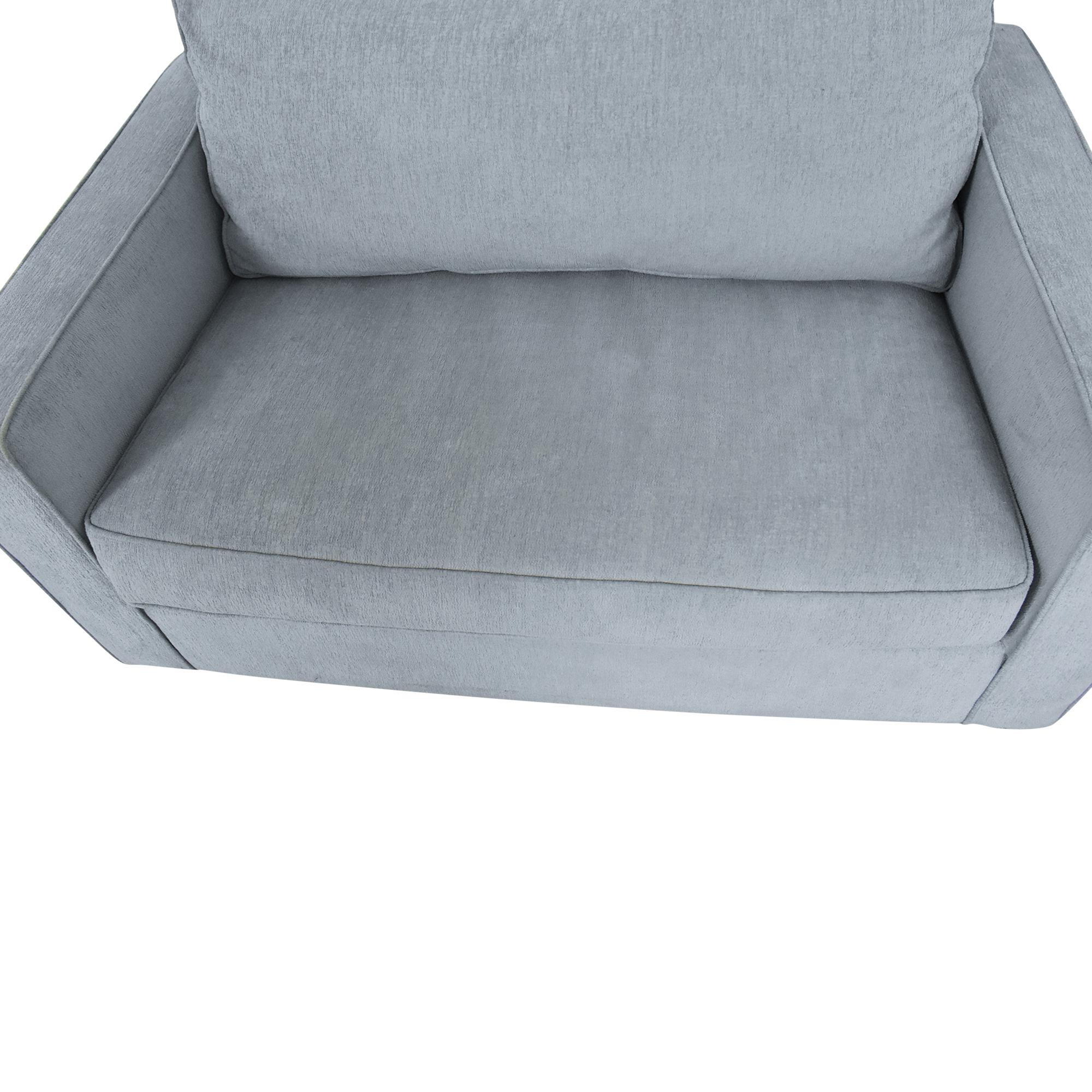 Arhaus Arhaus Filmore Twin Sleeper Chair ct