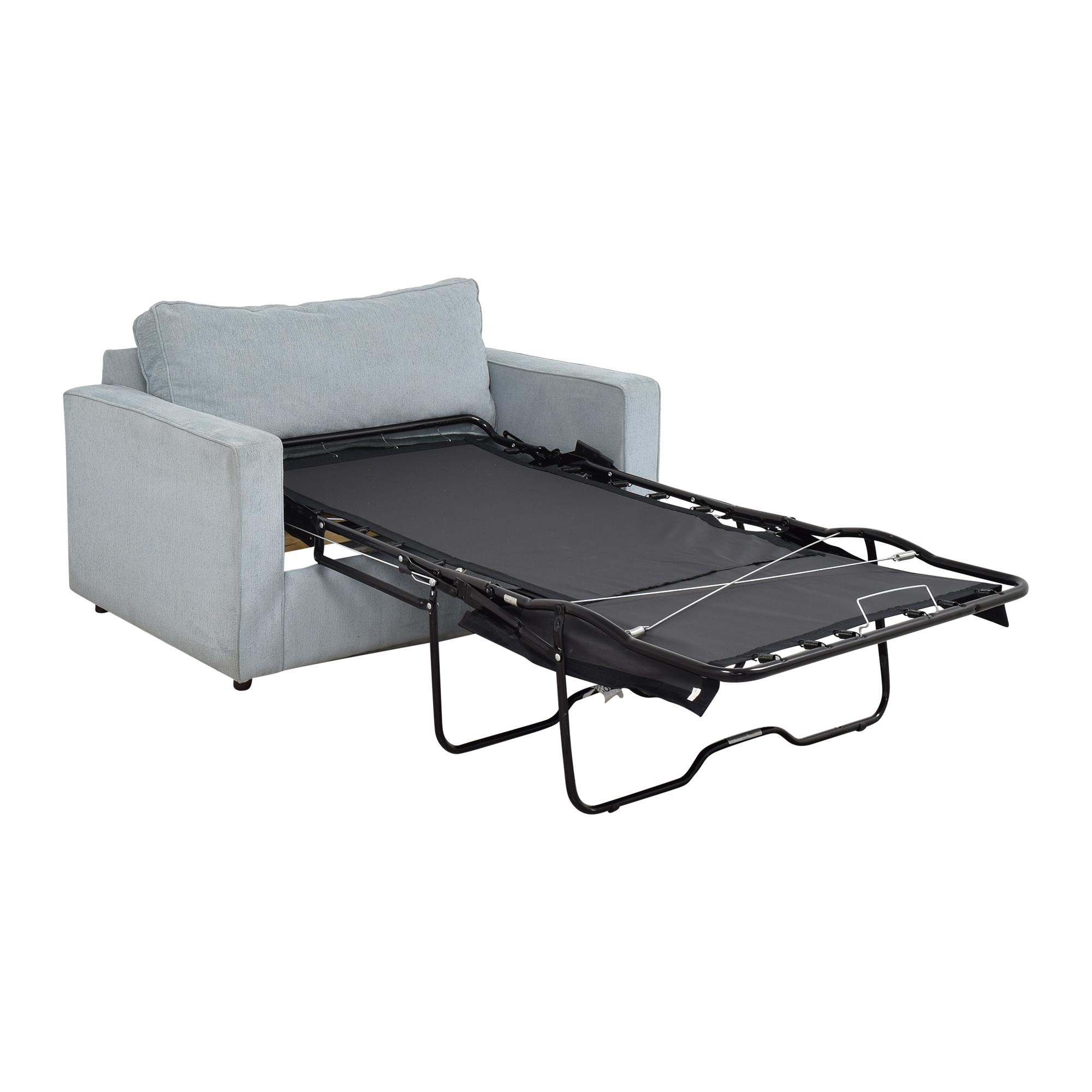 Arhaus Arhaus Filmore Twin Sleeper Chair for sale