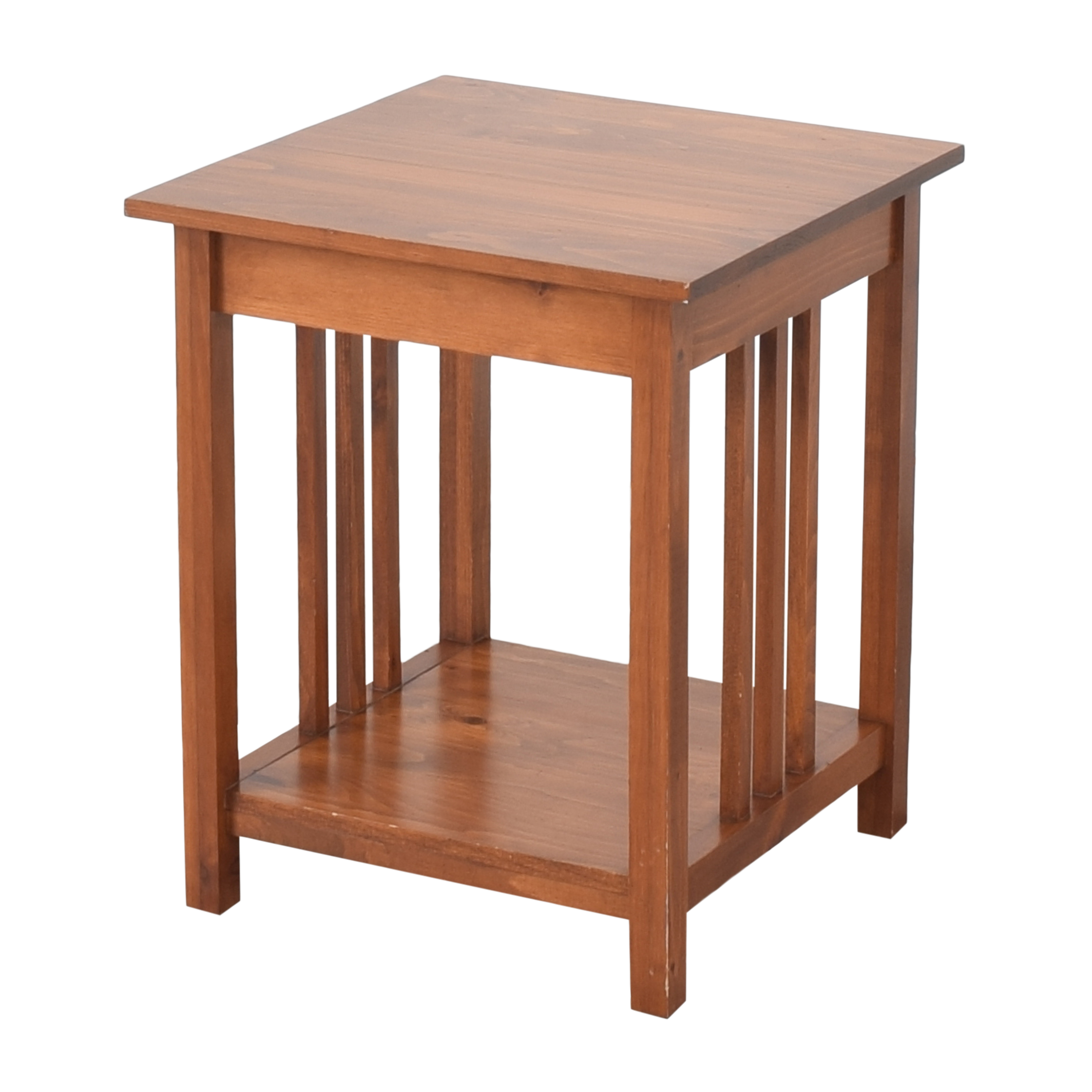 Superior Furniture Mission End Table / Tables