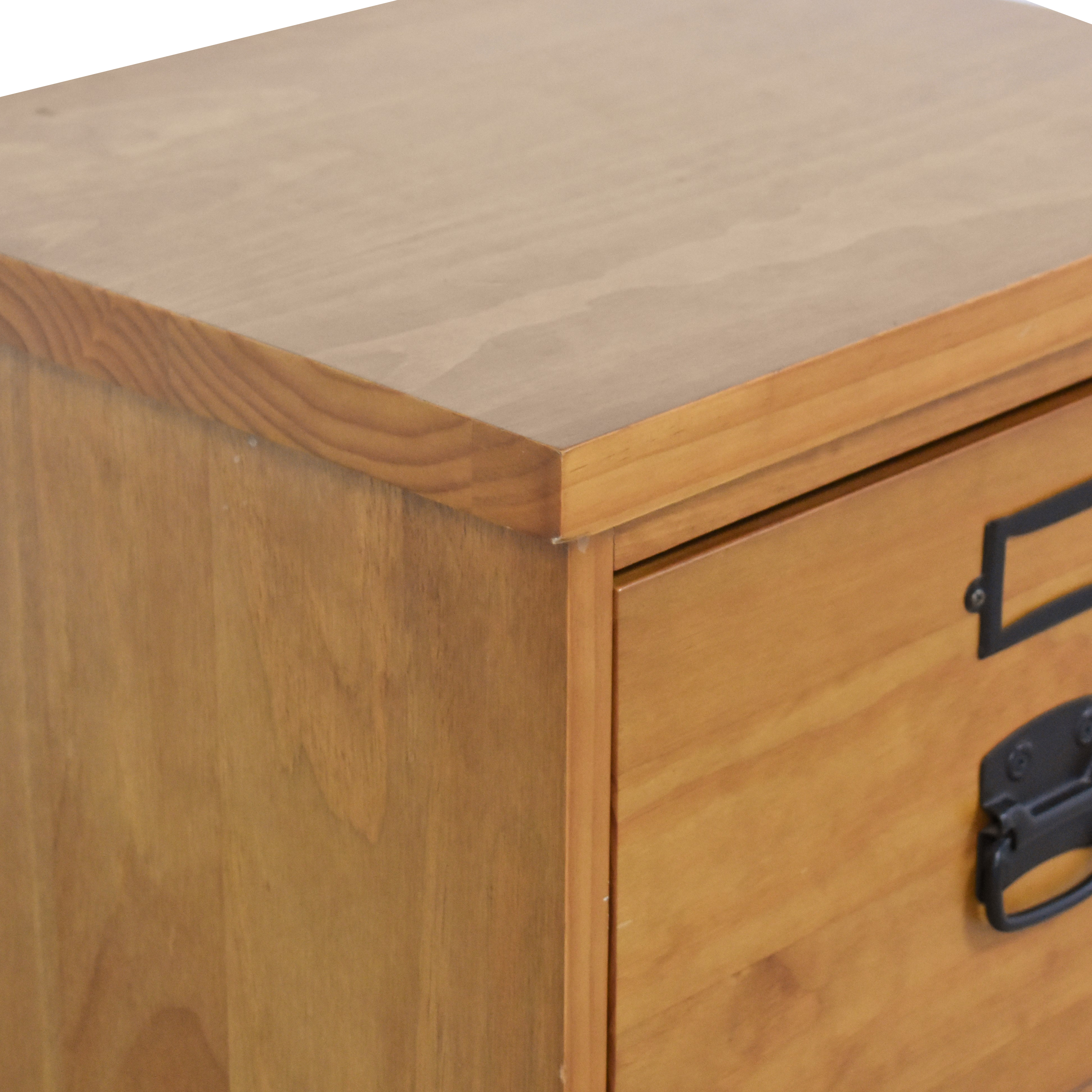 buy Pottery Barn Bedford Two Drawer File Cabinet Pottery Barn Storage