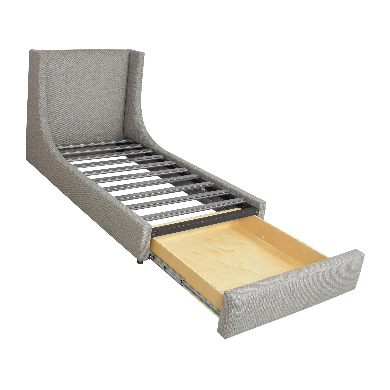 shop Room & Board Marlo Twin Storage Bed Room & Board Bed Frames
