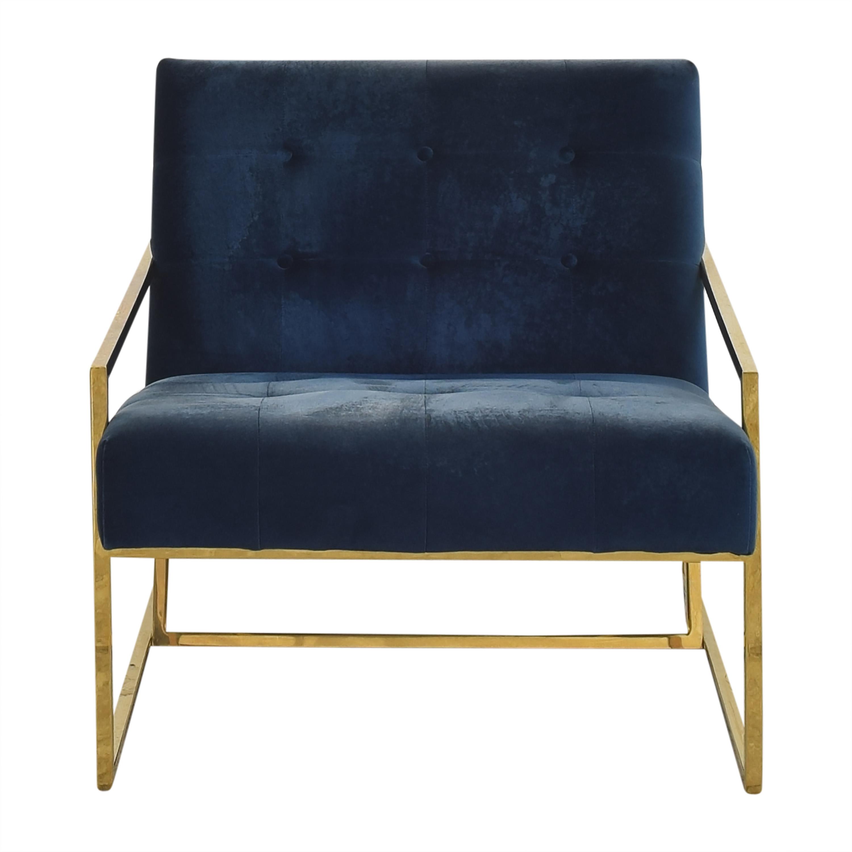 Jonathan Adler Jonathan Adler Goldfinger Lounge Chair discount