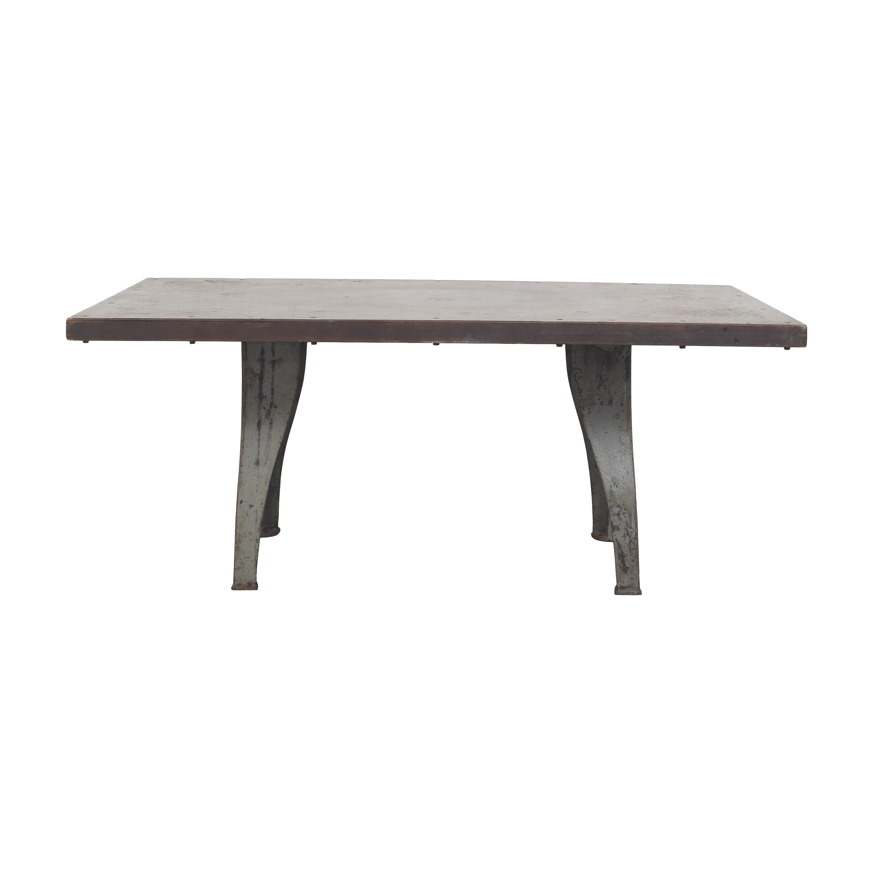 Custom Industrial Dining Table on sale