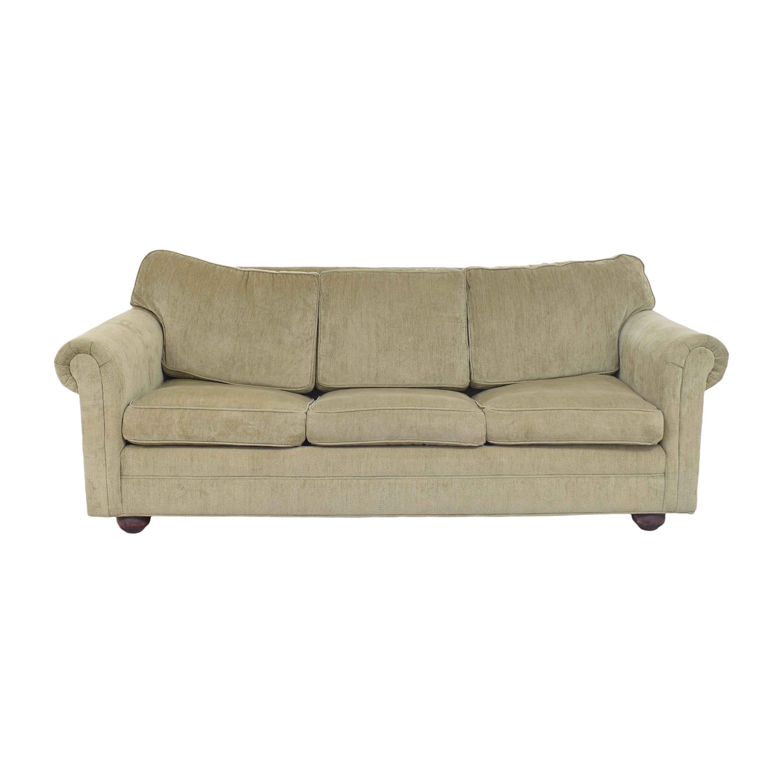 Three Cushion Sleeper Sofa for sale