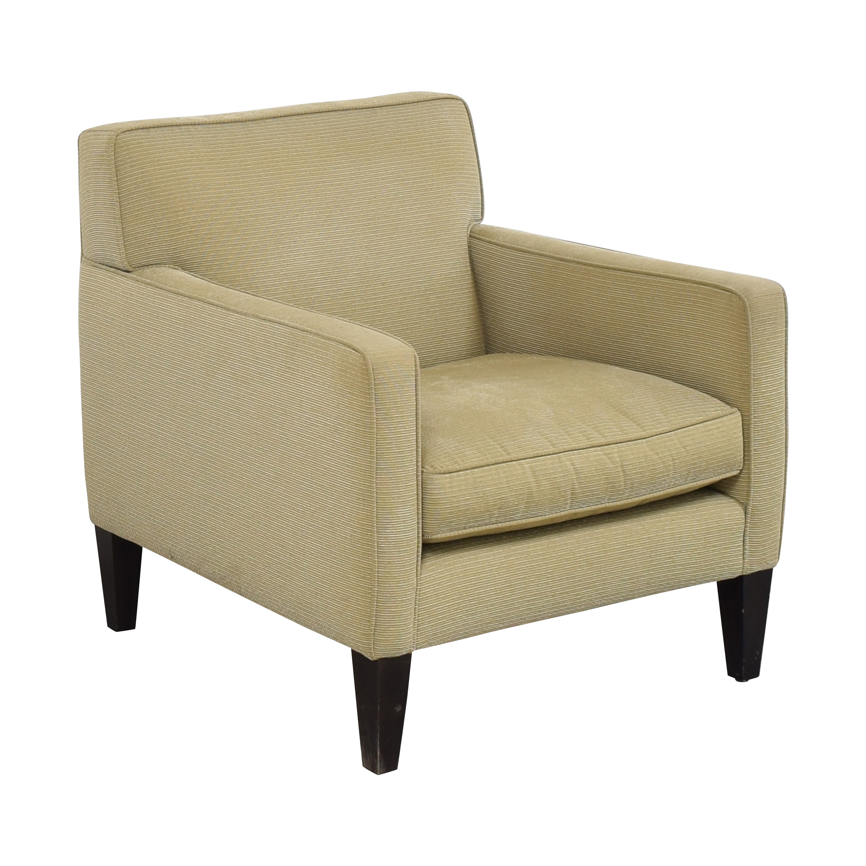 Crate & Barrel Crate & Barrel Tight Back Accent Chair ma