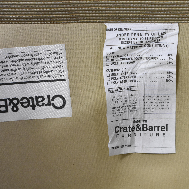 Crate & Barrel Crate & Barrel Tight Back Accent Chair