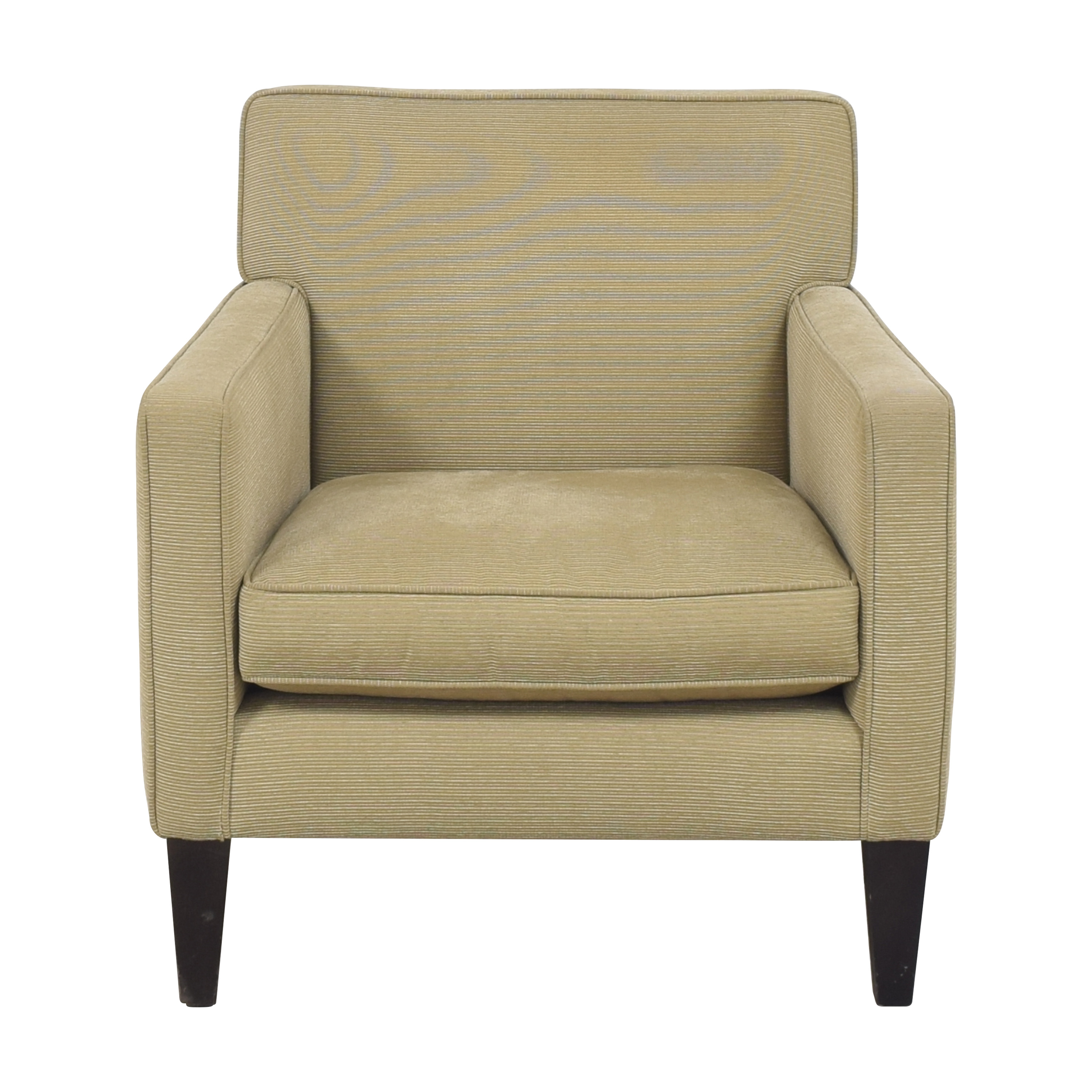 Crate & Barrel Tight Back Accent Chair / Accent Chairs
