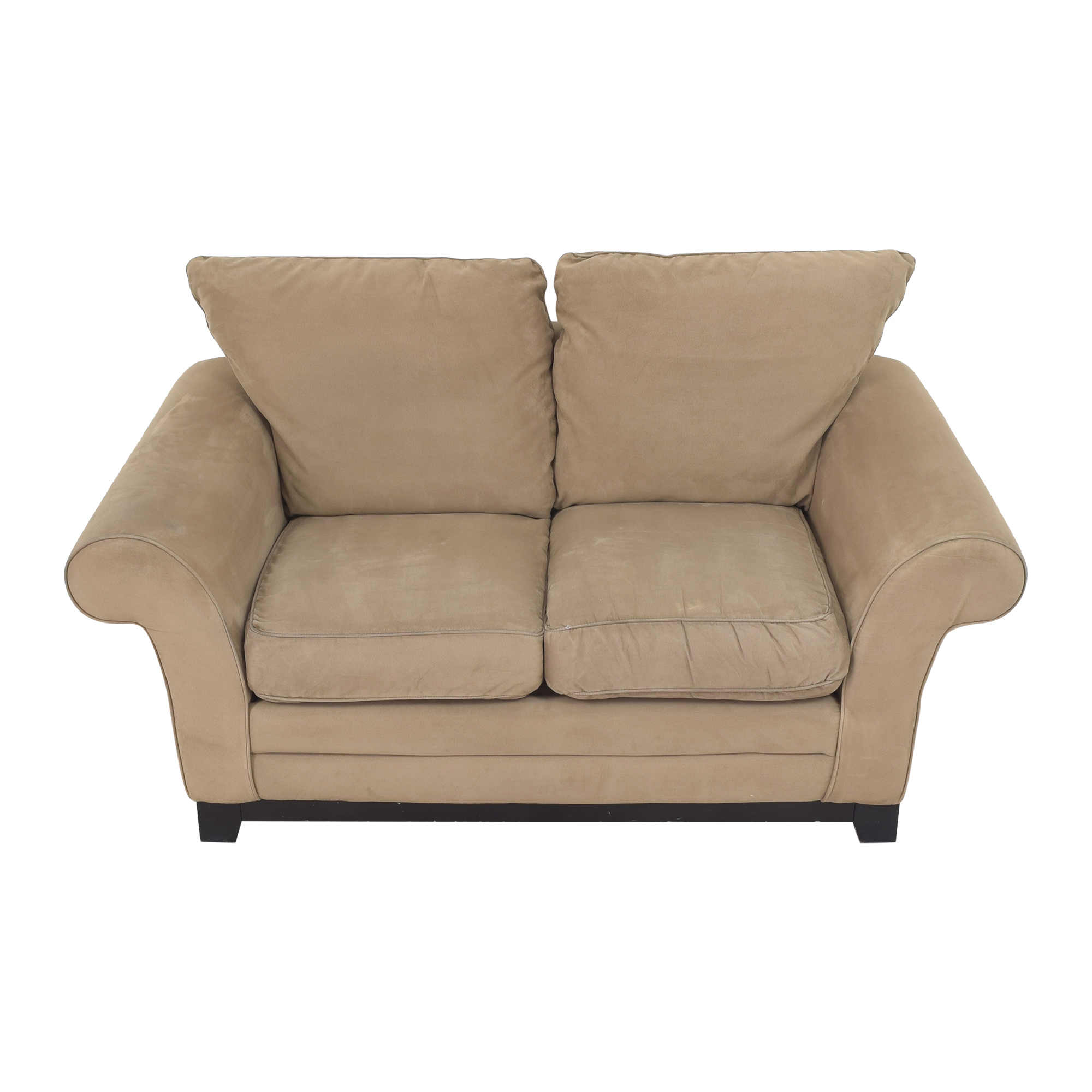 Robinson & Robinson Robinson & Robinson Roll Arm Loveseat for sale